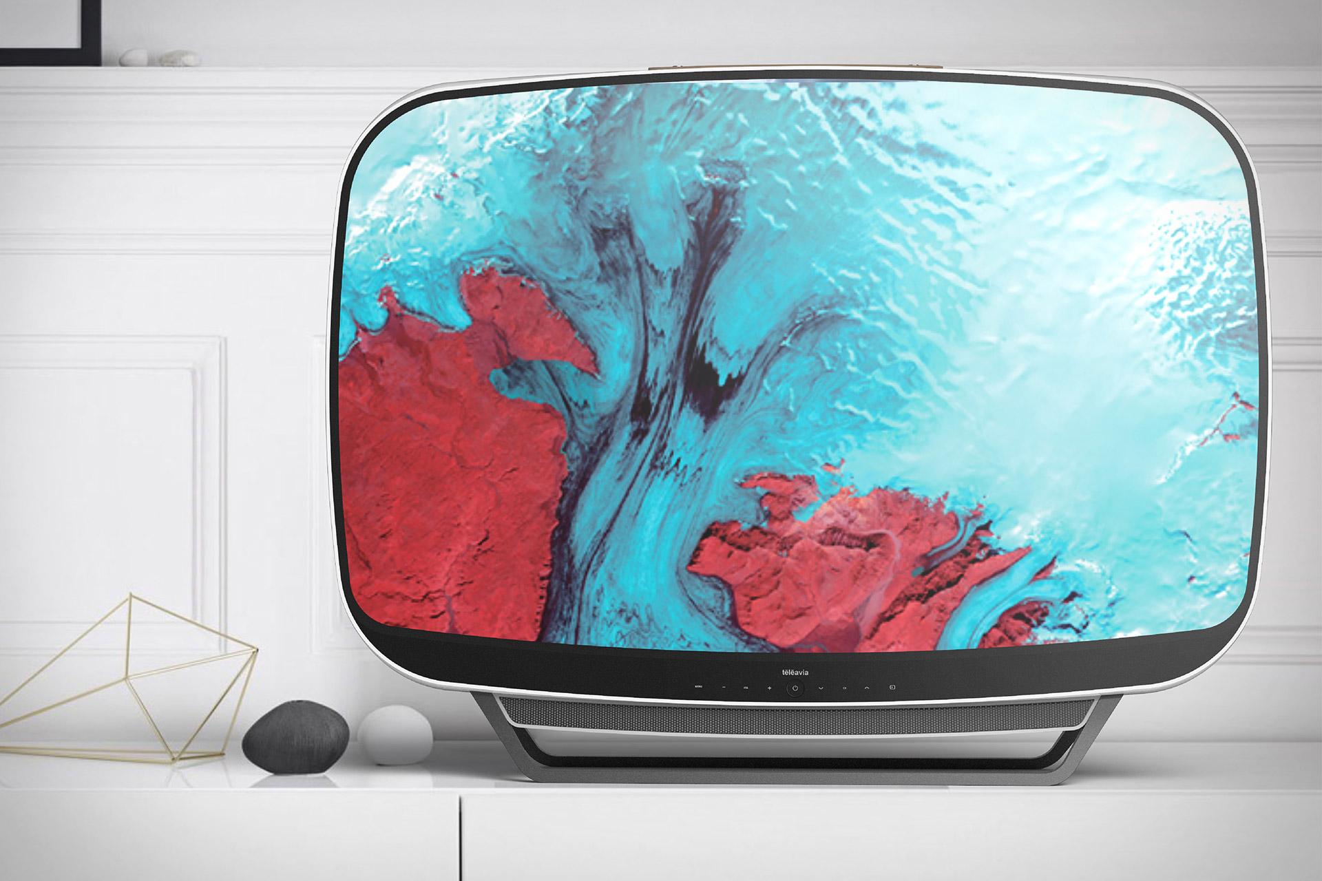 Teleavia Retro TV Concept