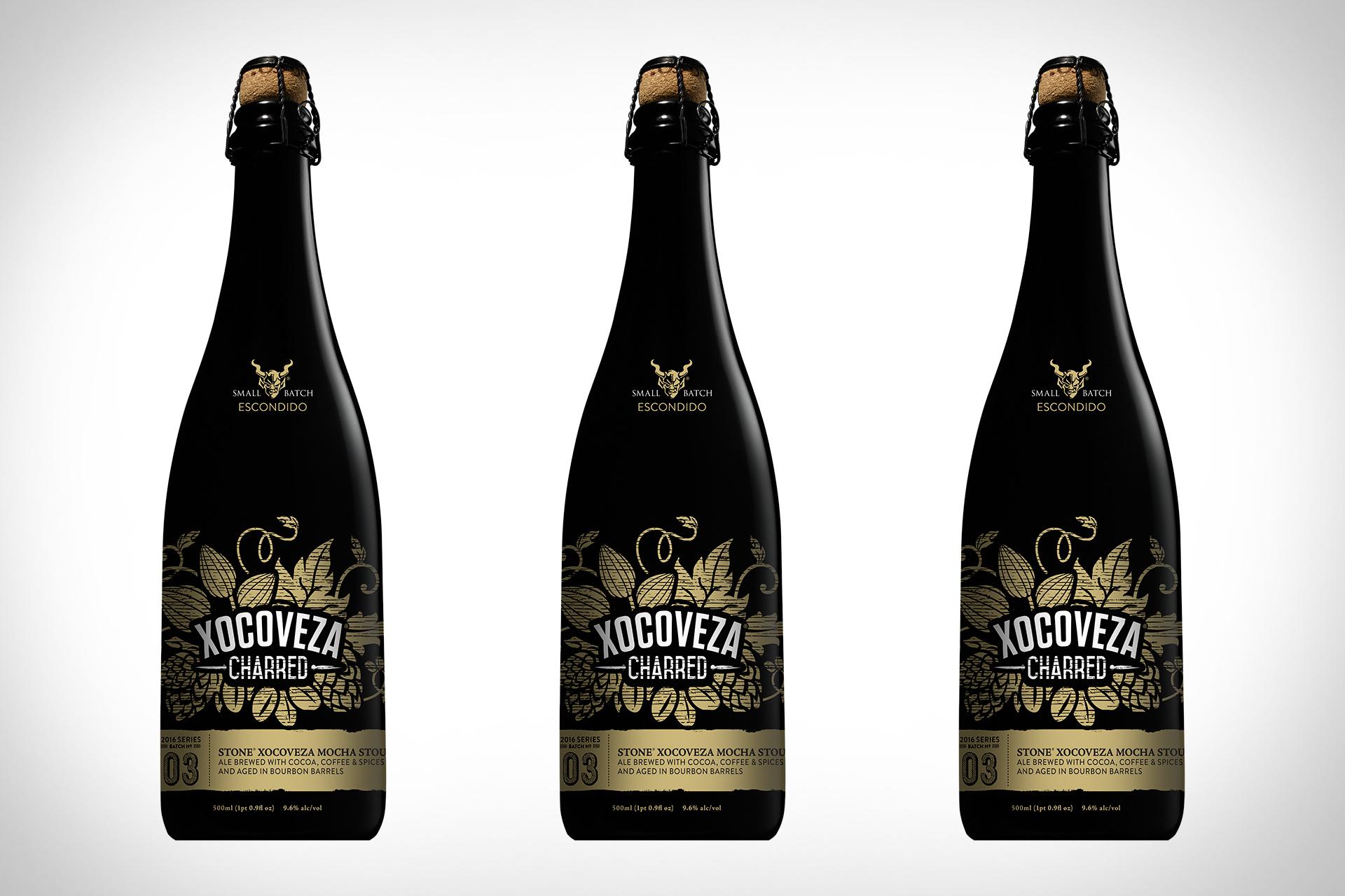 Stone Xocoveza Bourbon Barrel Mokka-Stout Bier