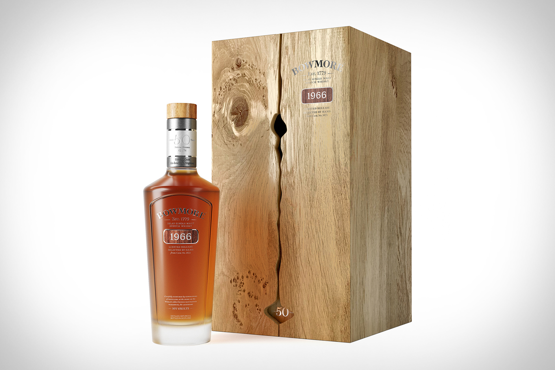 Bowmore 1966 50 Years Old Scotch Whisky