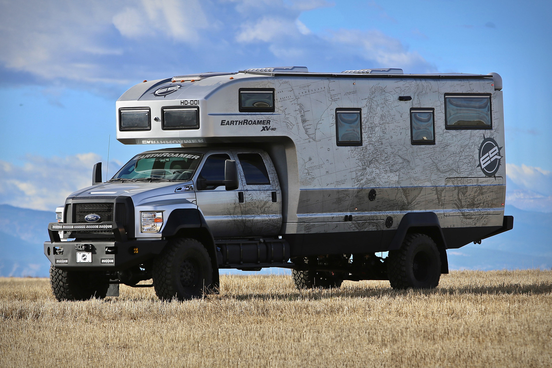 EarthRoamer XV-HD Expedition Vehicle | Uncrate