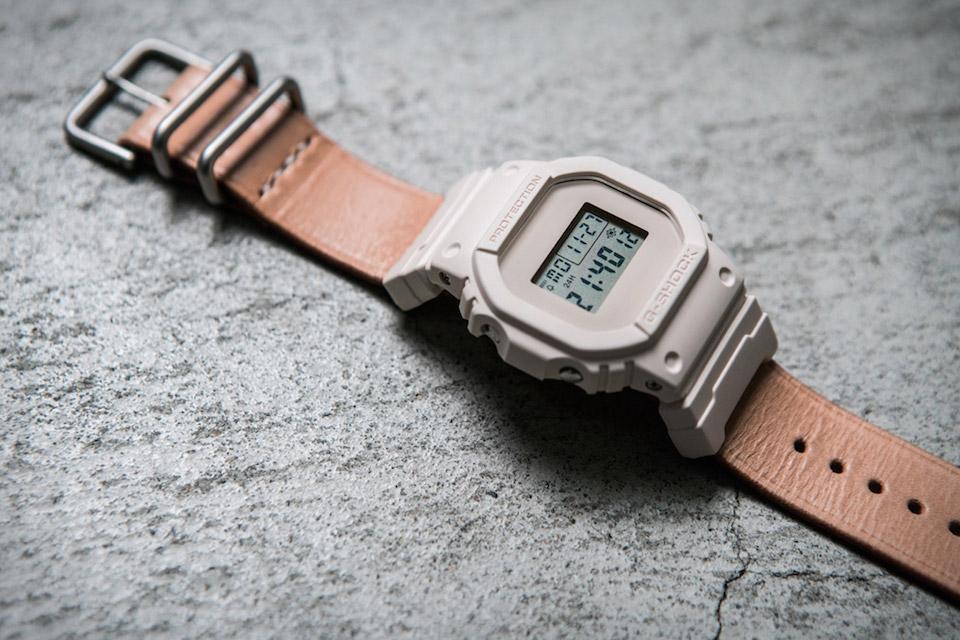 亨德计划 x G档震撼 DW-5600 手表