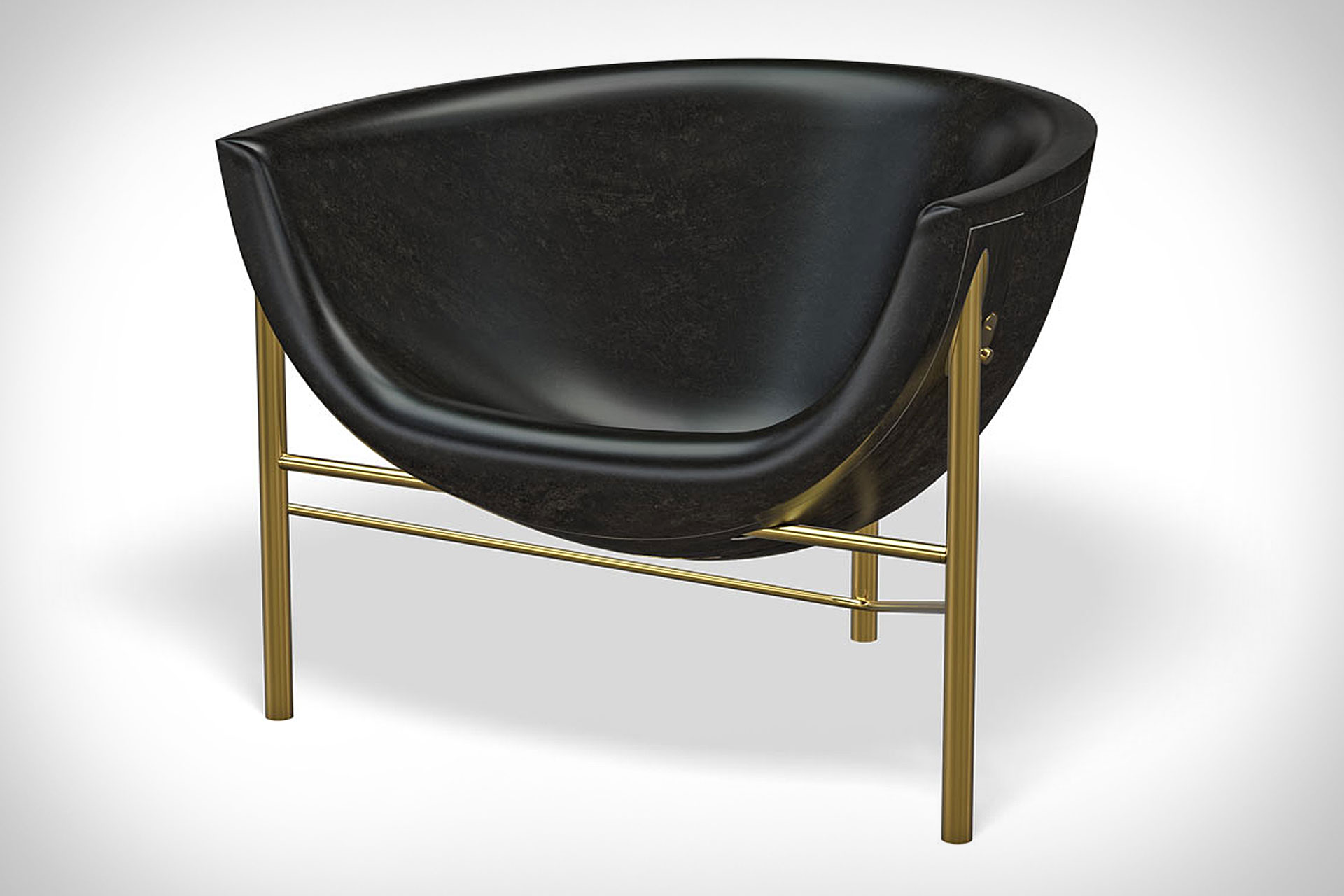 Eames Mohair Supreme Lounge Chair Uncrate