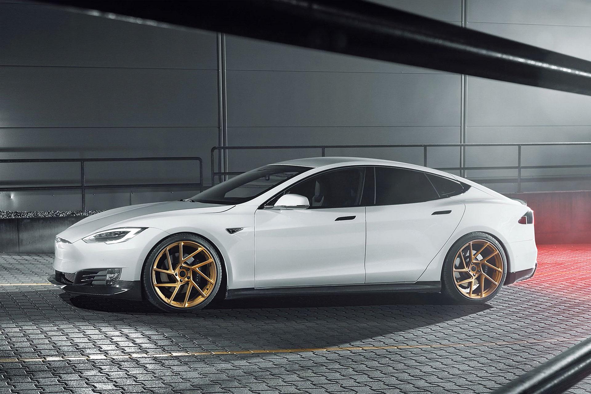 Novitec Tesla Model S Performance Kit