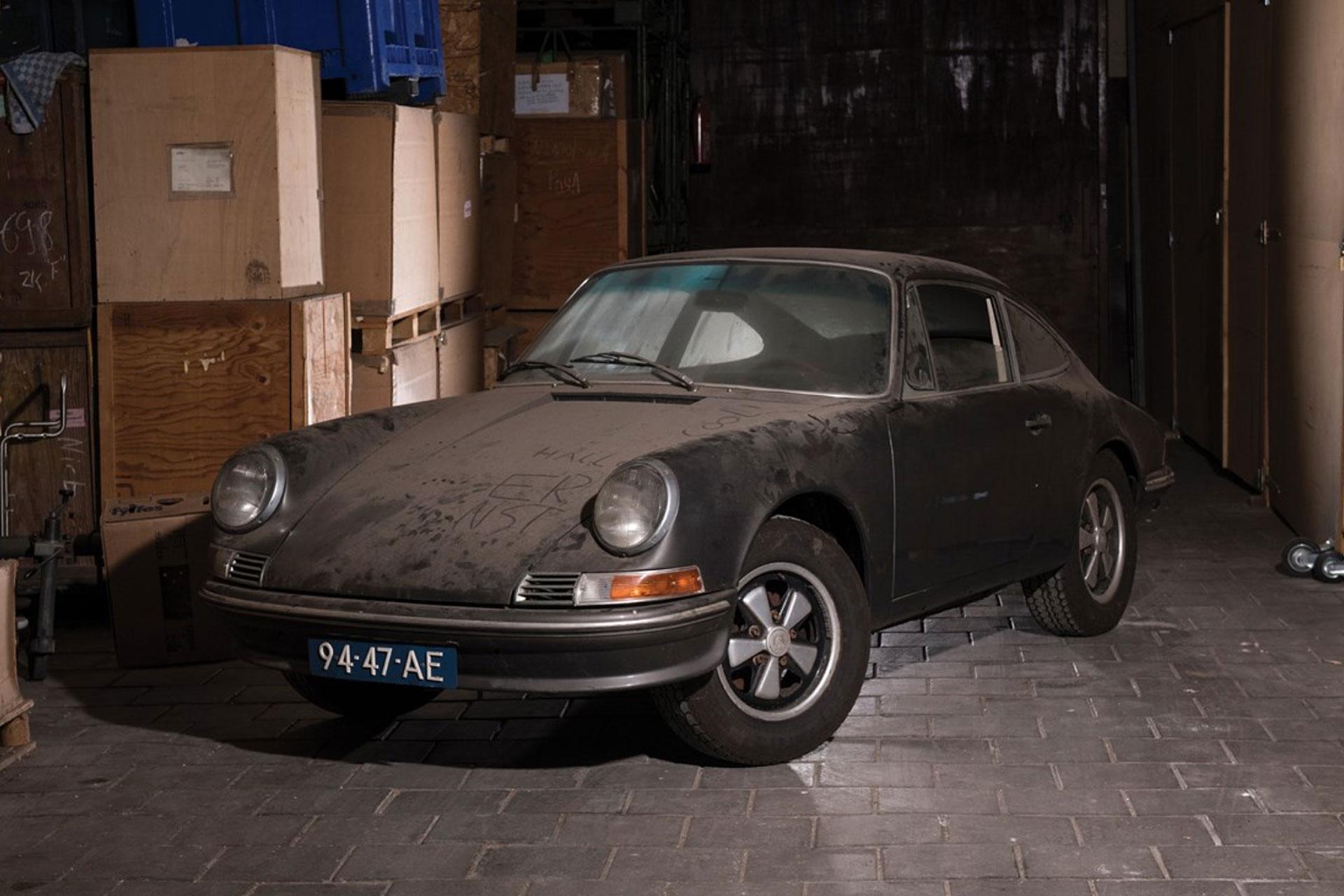 Porsche 912 Barn Find