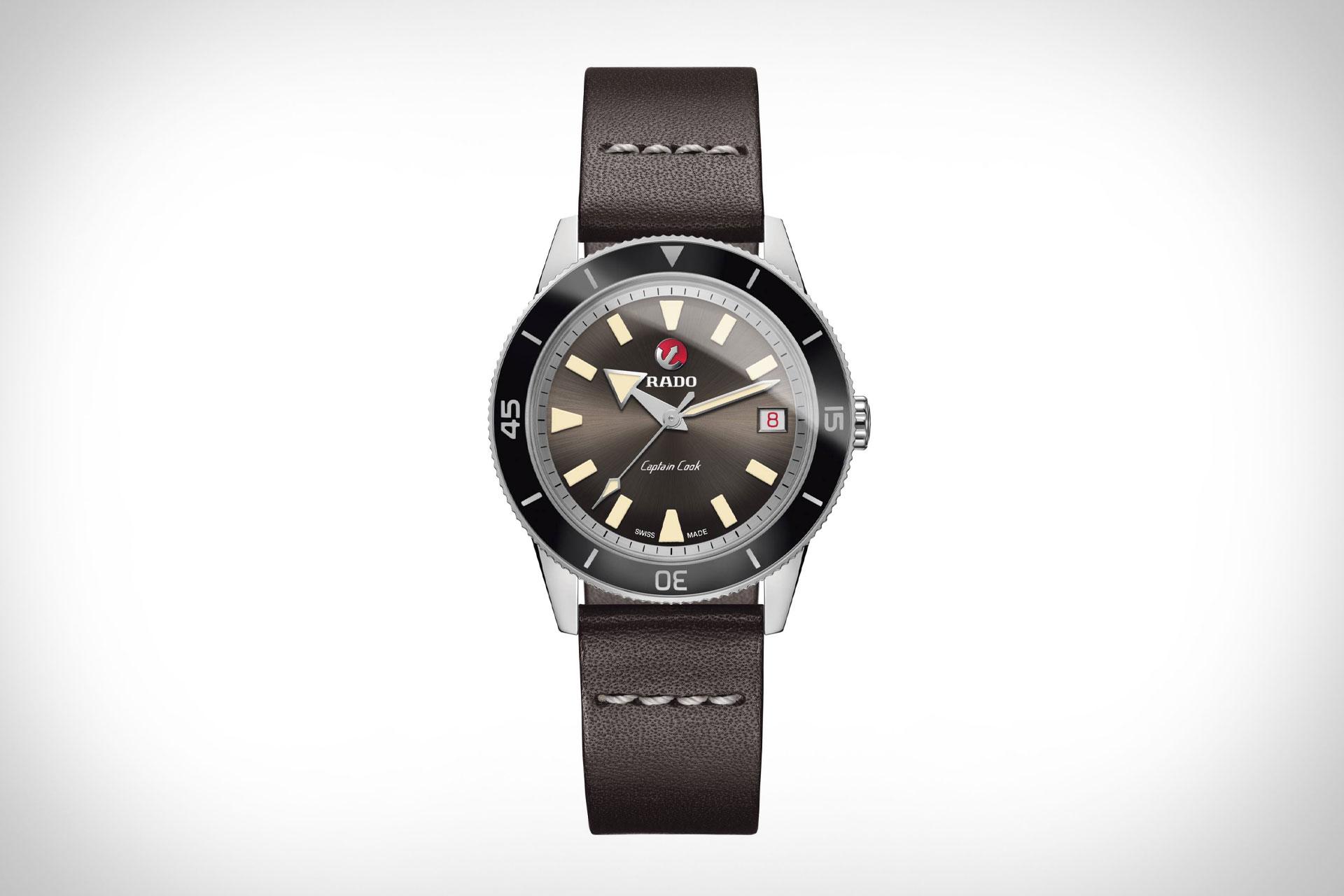雷达限量版 皓星系列 库克船长手表