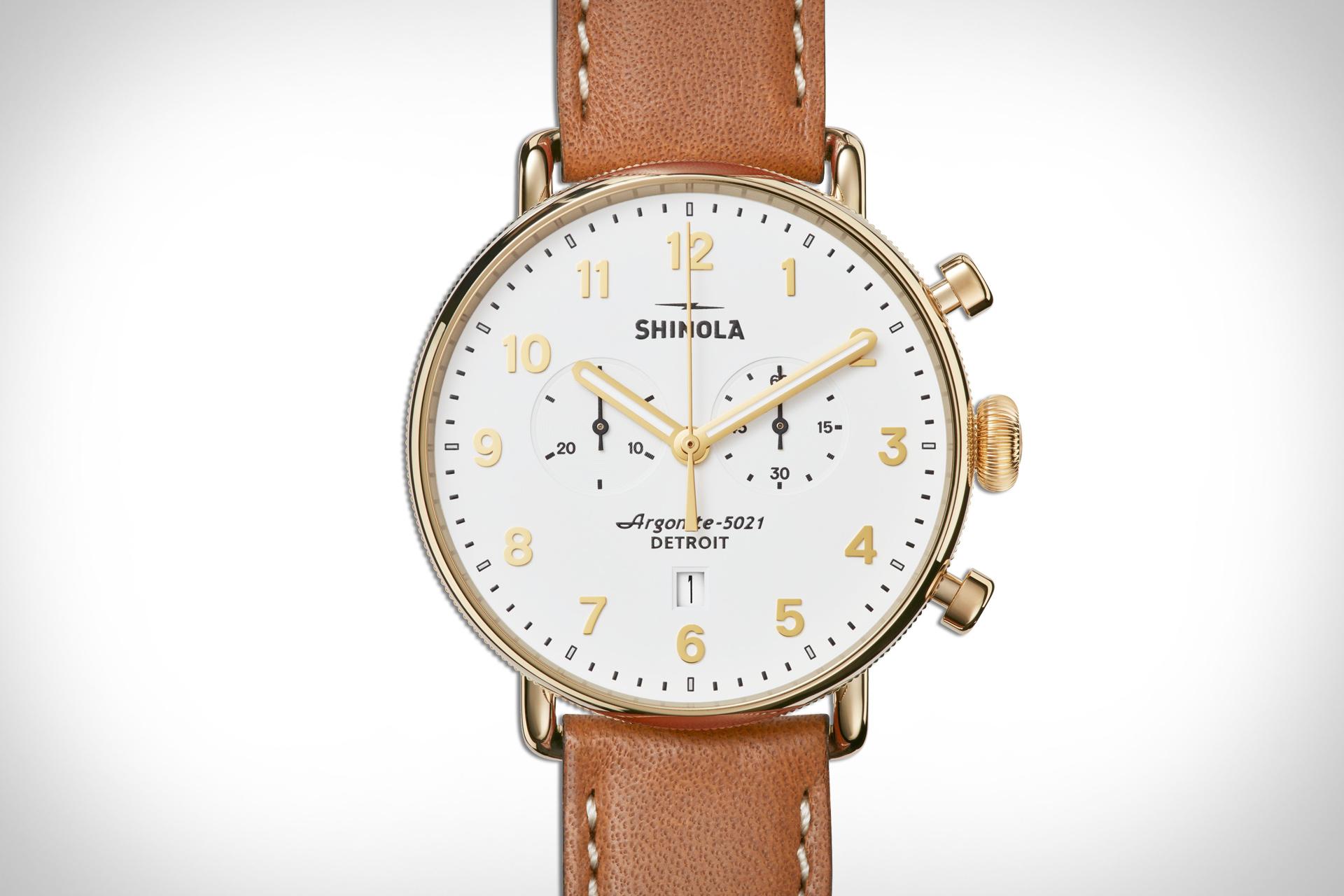 Shinola Canfield Chrono Watch