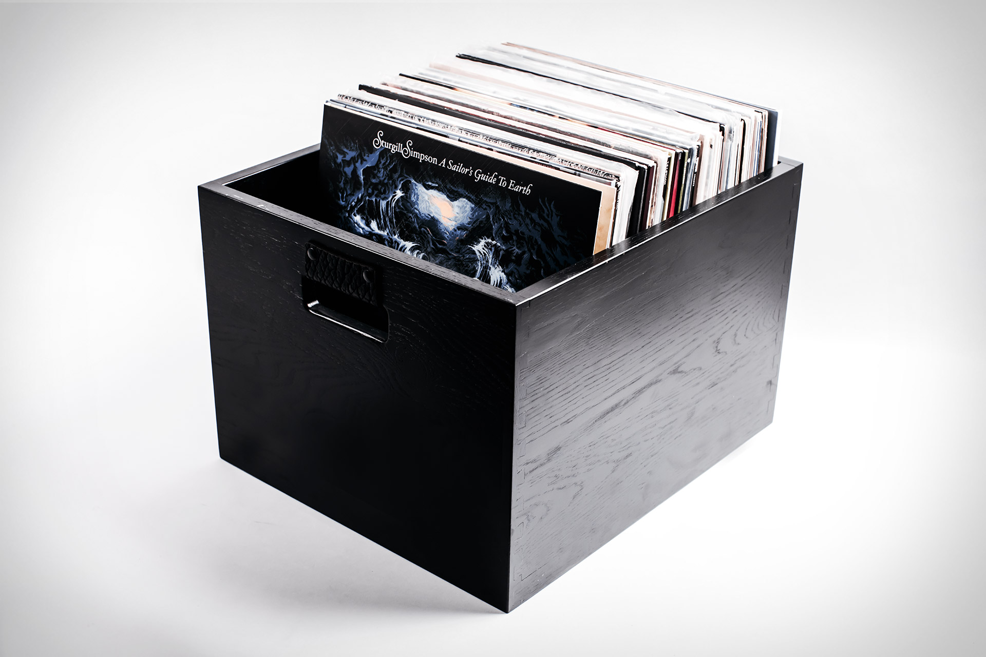Symbol Audio x Uncrate Dovetail Record Crate