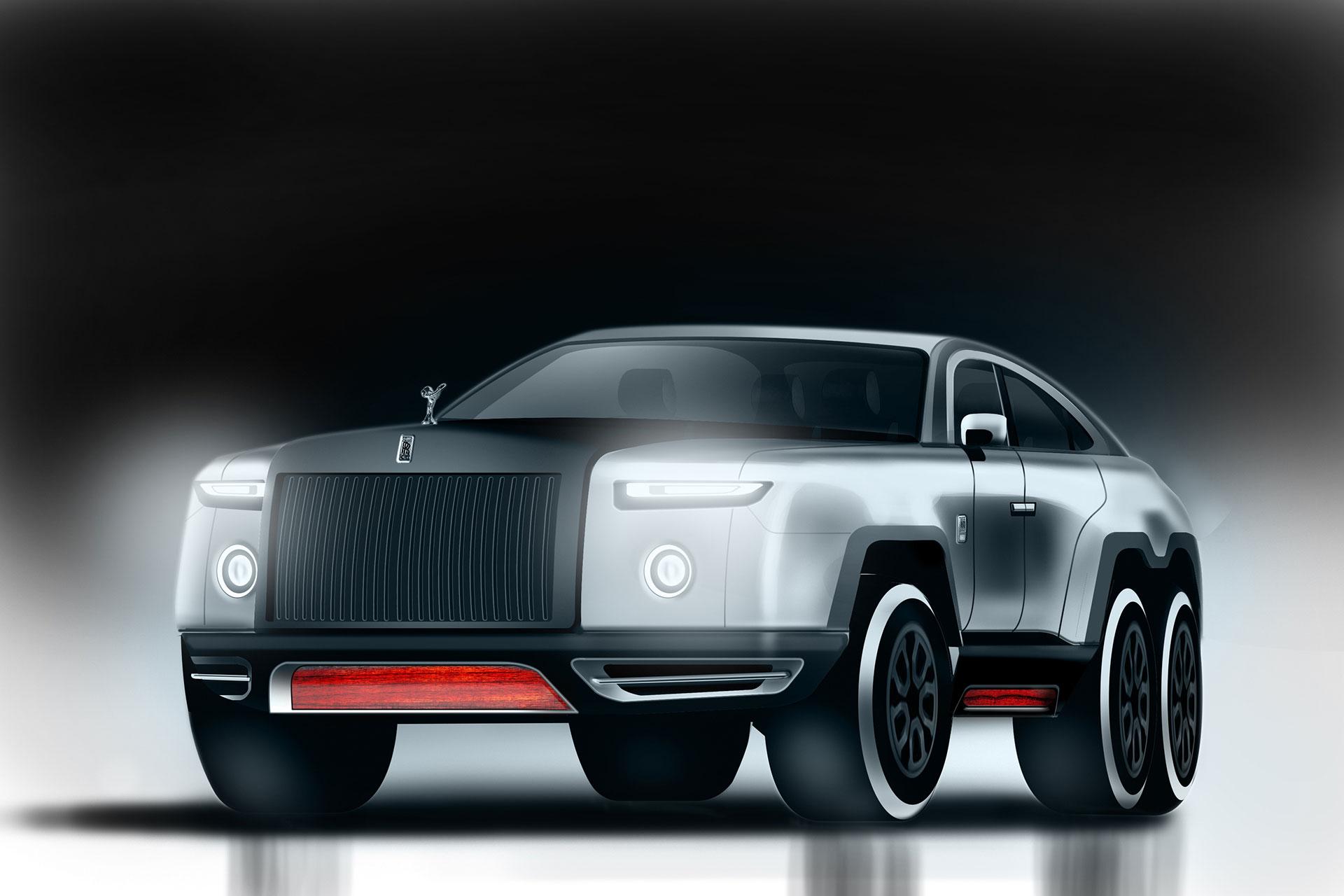 Three-Axle Rolls-Royce