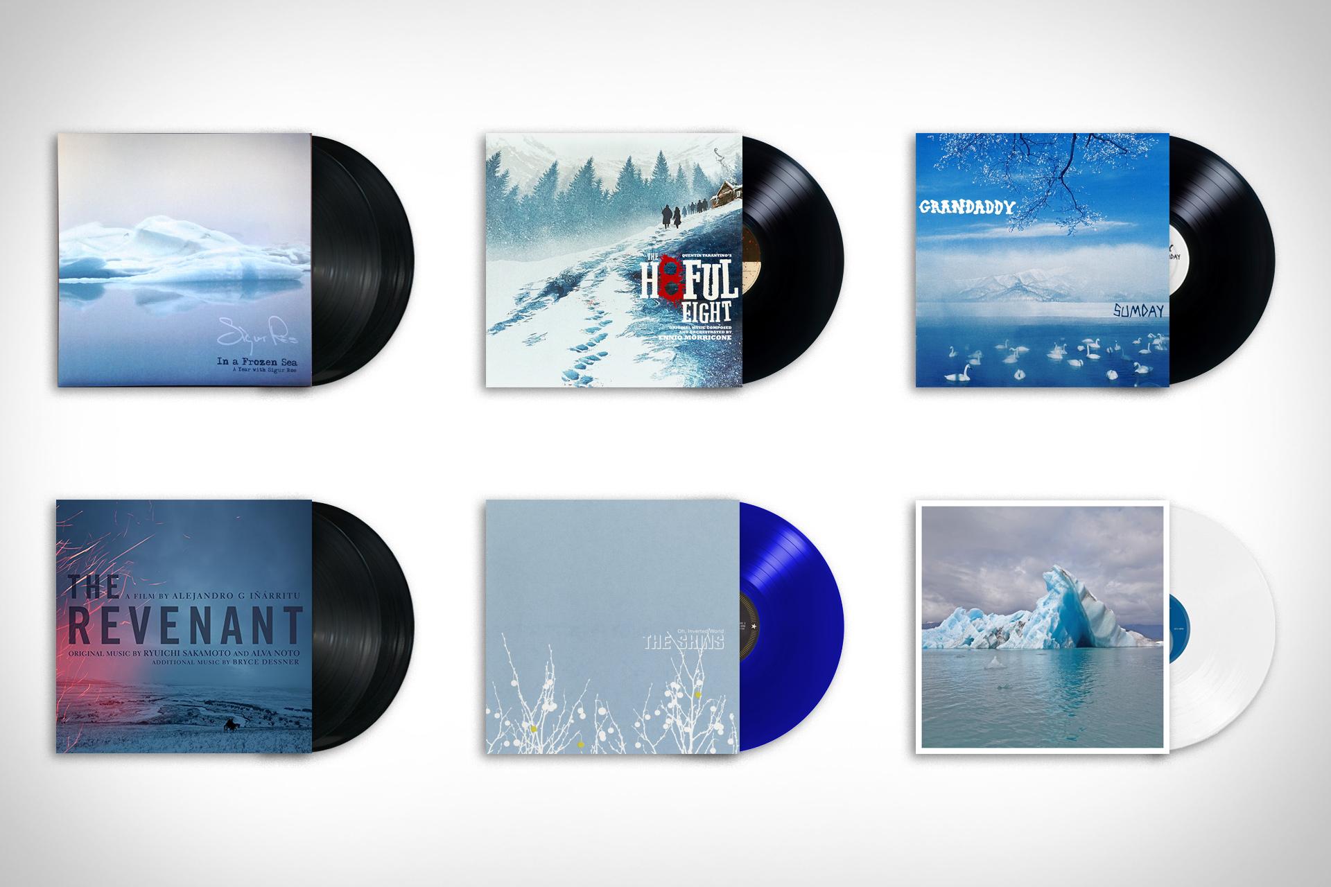 Analog: Winter Blues