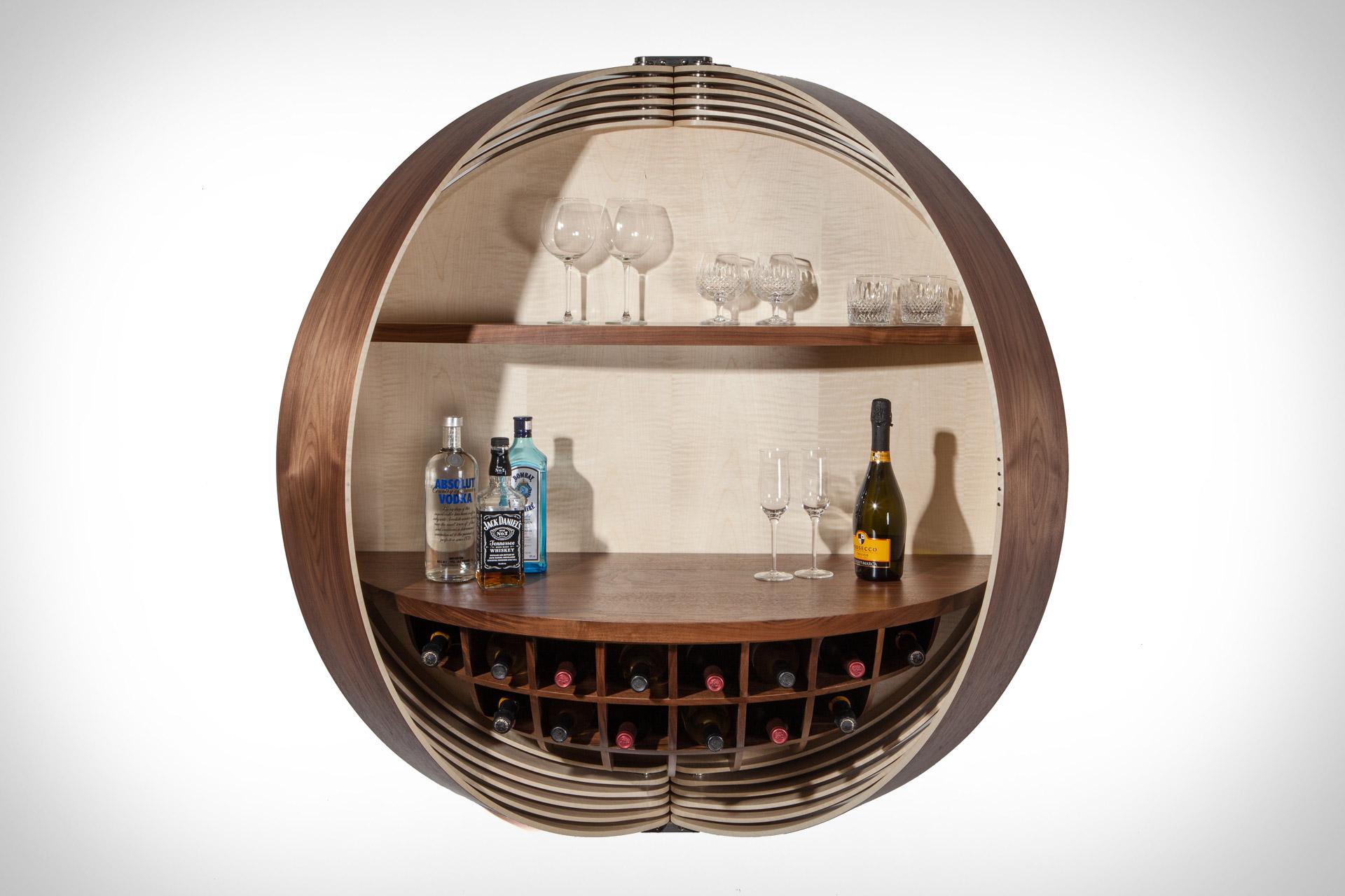 Dime Bar Cabinet