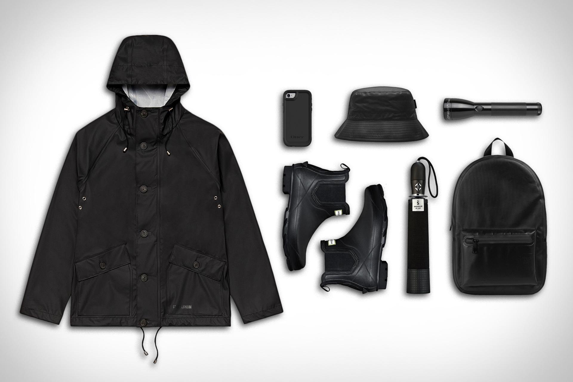 Kleidung: Regentage
