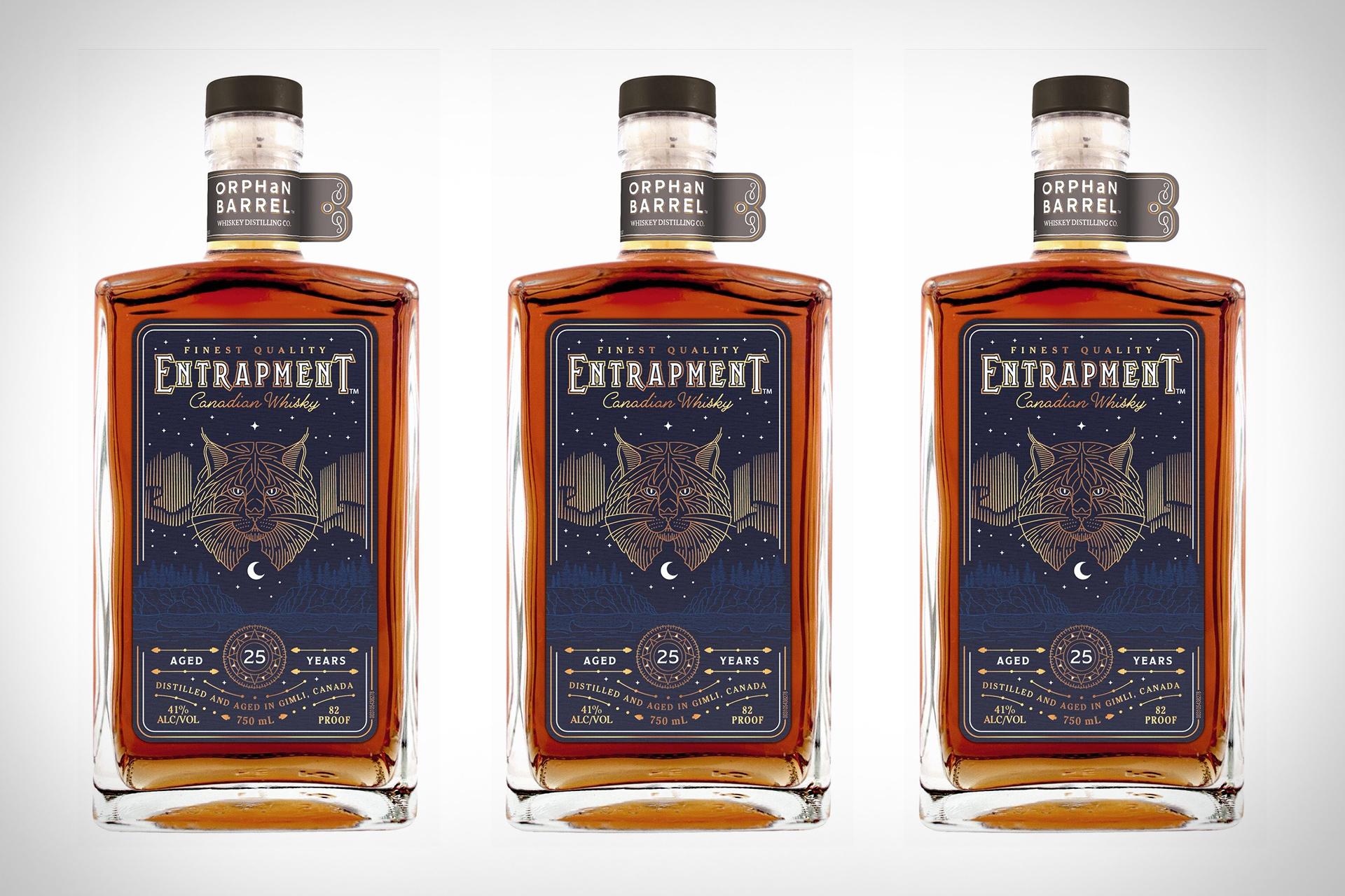 Orphan Barrel Entrapment Canadian Whisky