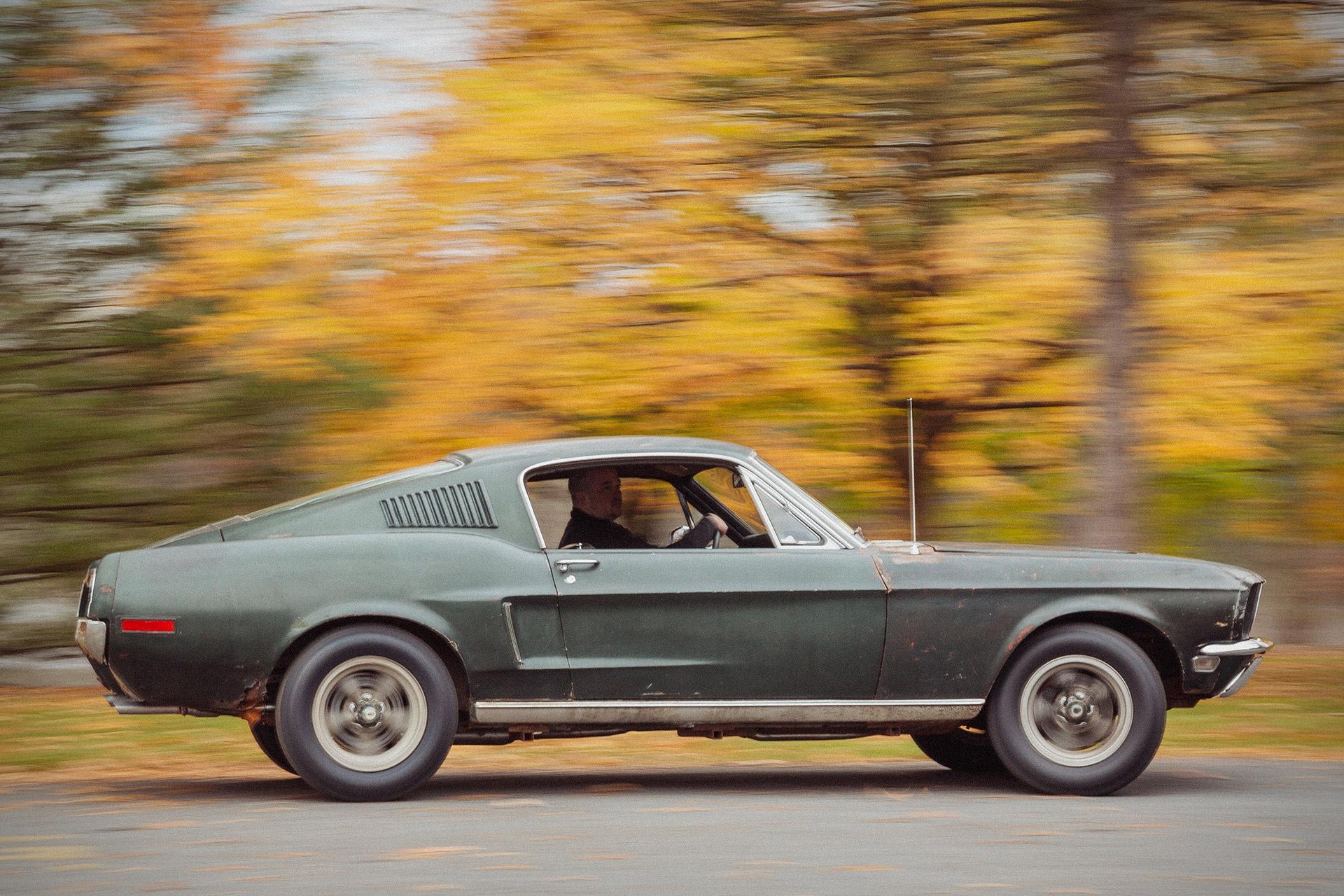 Original 1968 Ford Mustang Bullitt Uncrate