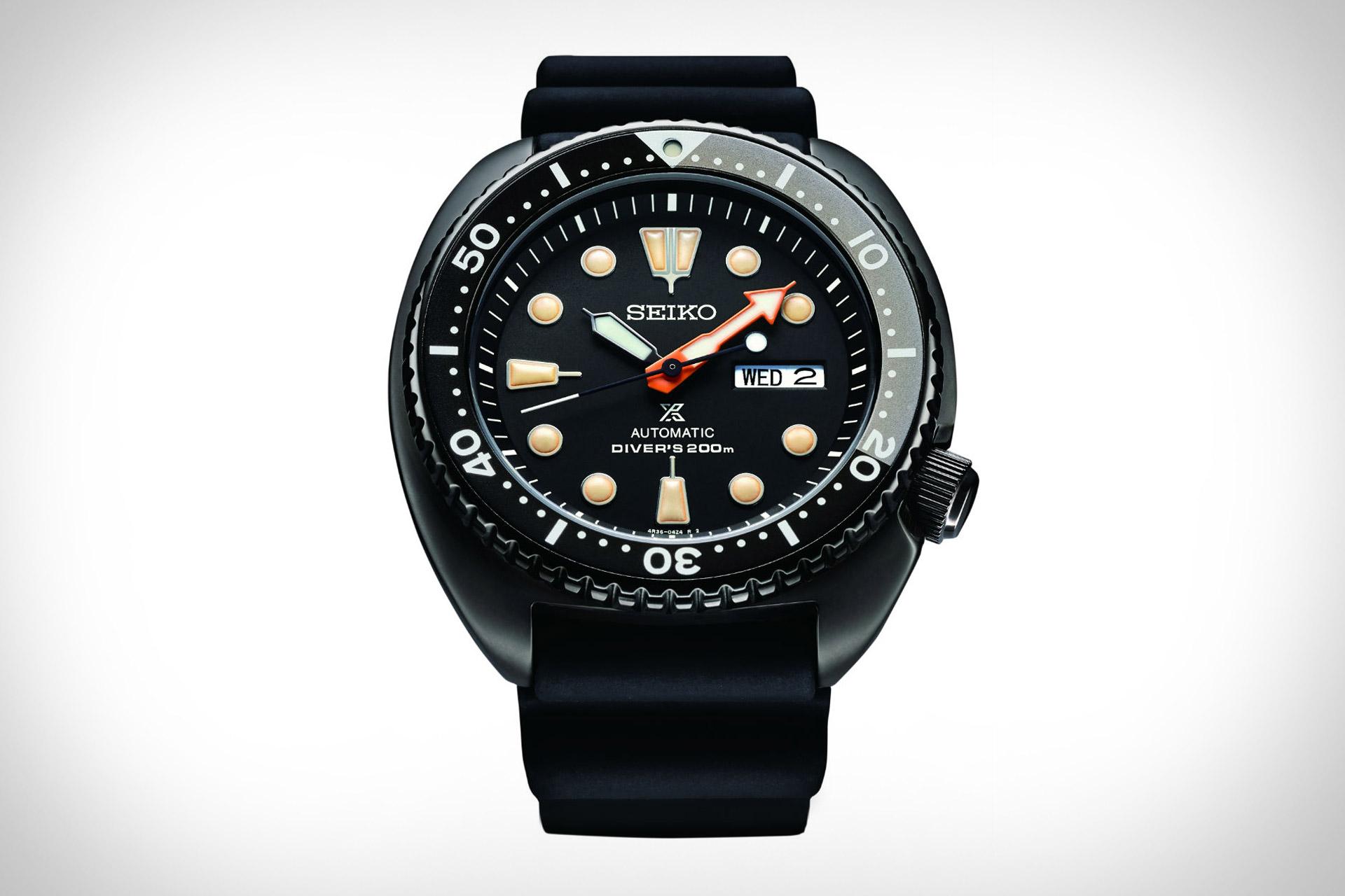 Seiko Prospex Black Series Watches