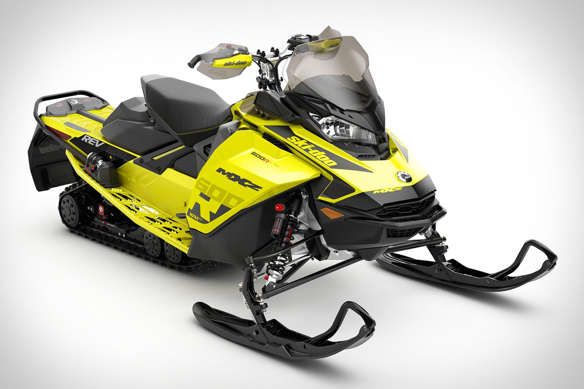 Ski-Doo MXZ 600R E-TEC Snowmobile