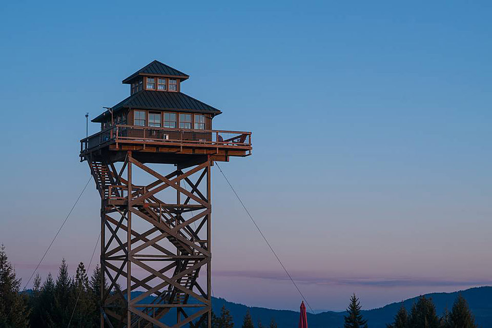 Summit Prairie Lookout Tower
