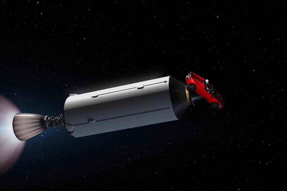Tesla In Space Uncrate