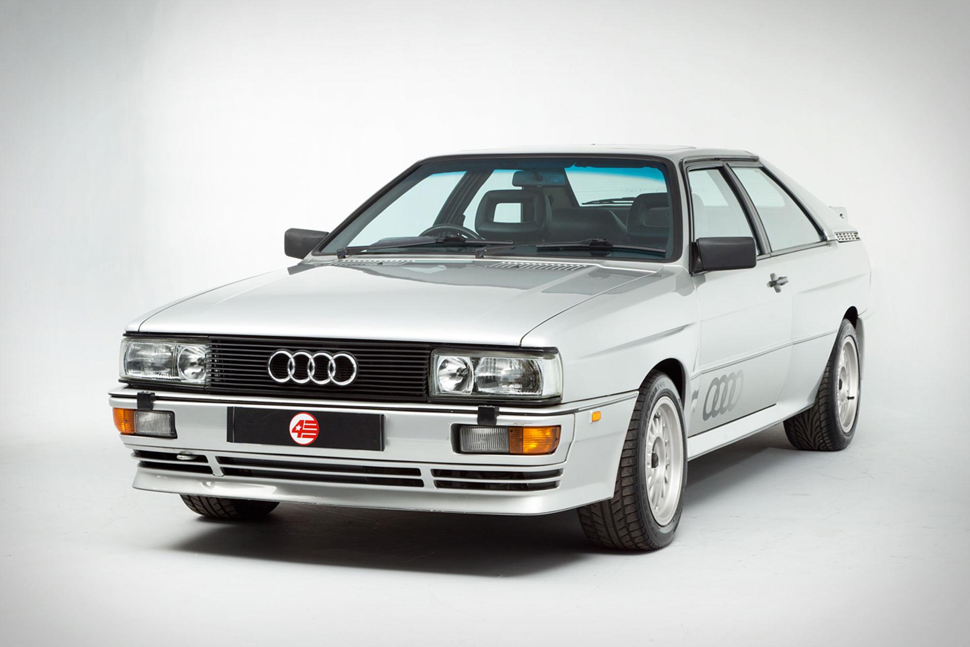 Audi RR Quattro V Uncrate - Audi quattro