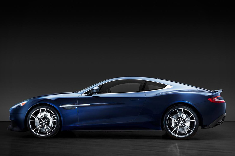 Daniel Craig's Aston Martin Vanquish