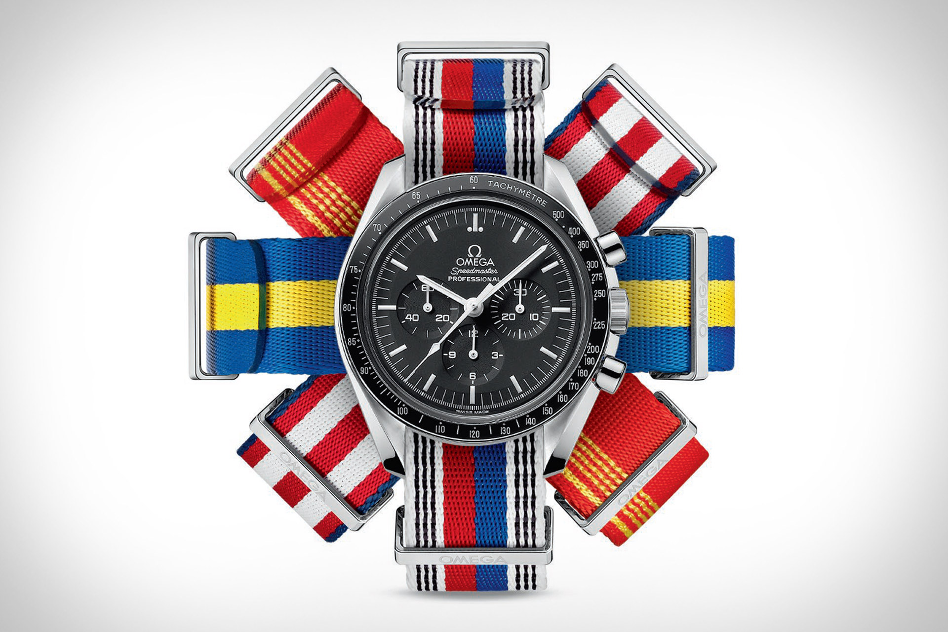 Omega Flag Inspired Nato Watch Straps Uncrate