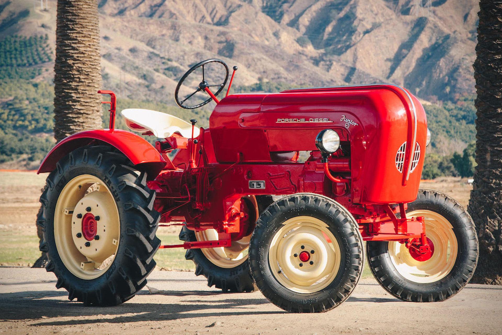 1961 porsche junior 108 tractor uncrate. Black Bedroom Furniture Sets. Home Design Ideas