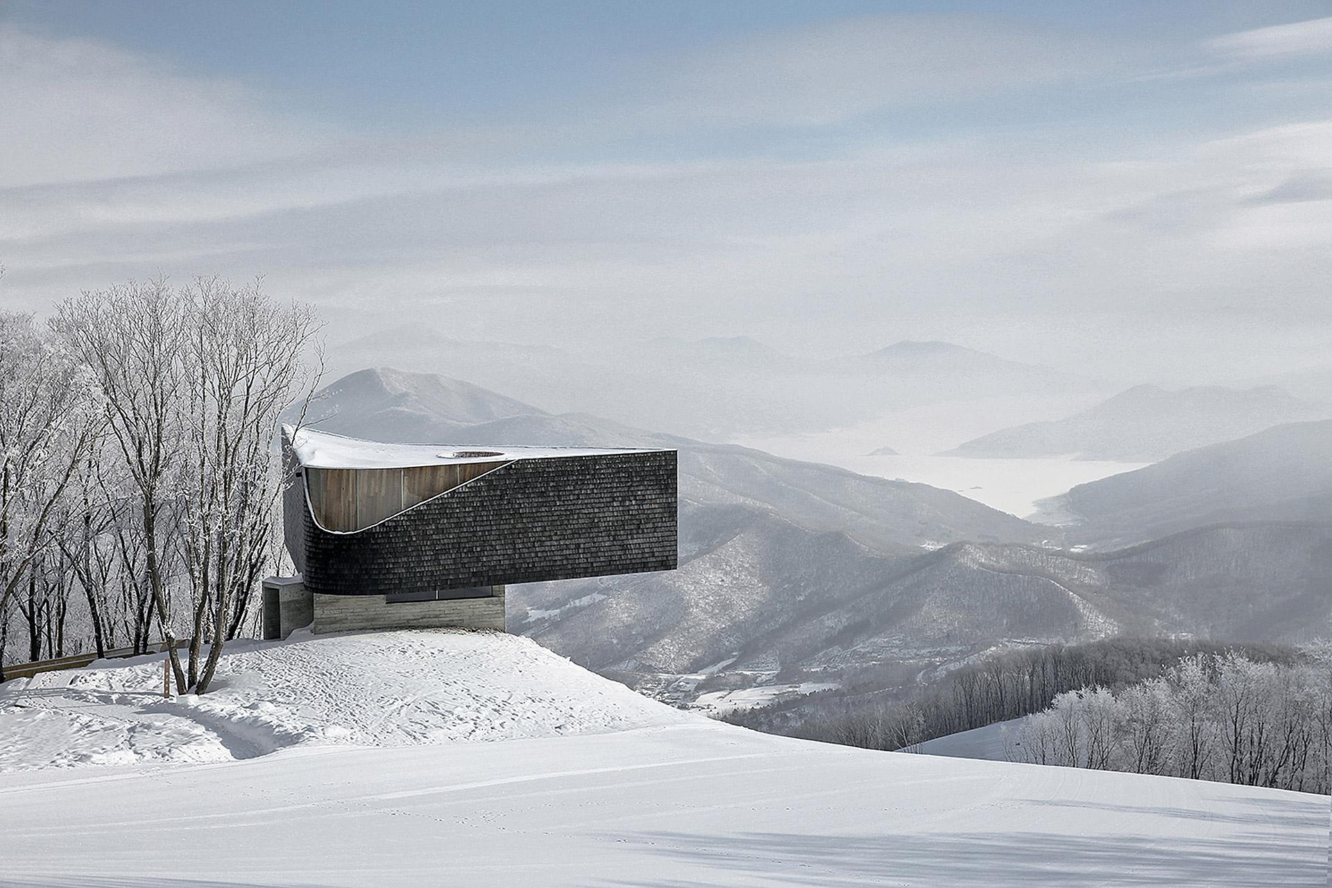 Songhua Lake Ski Overlook Uncrate