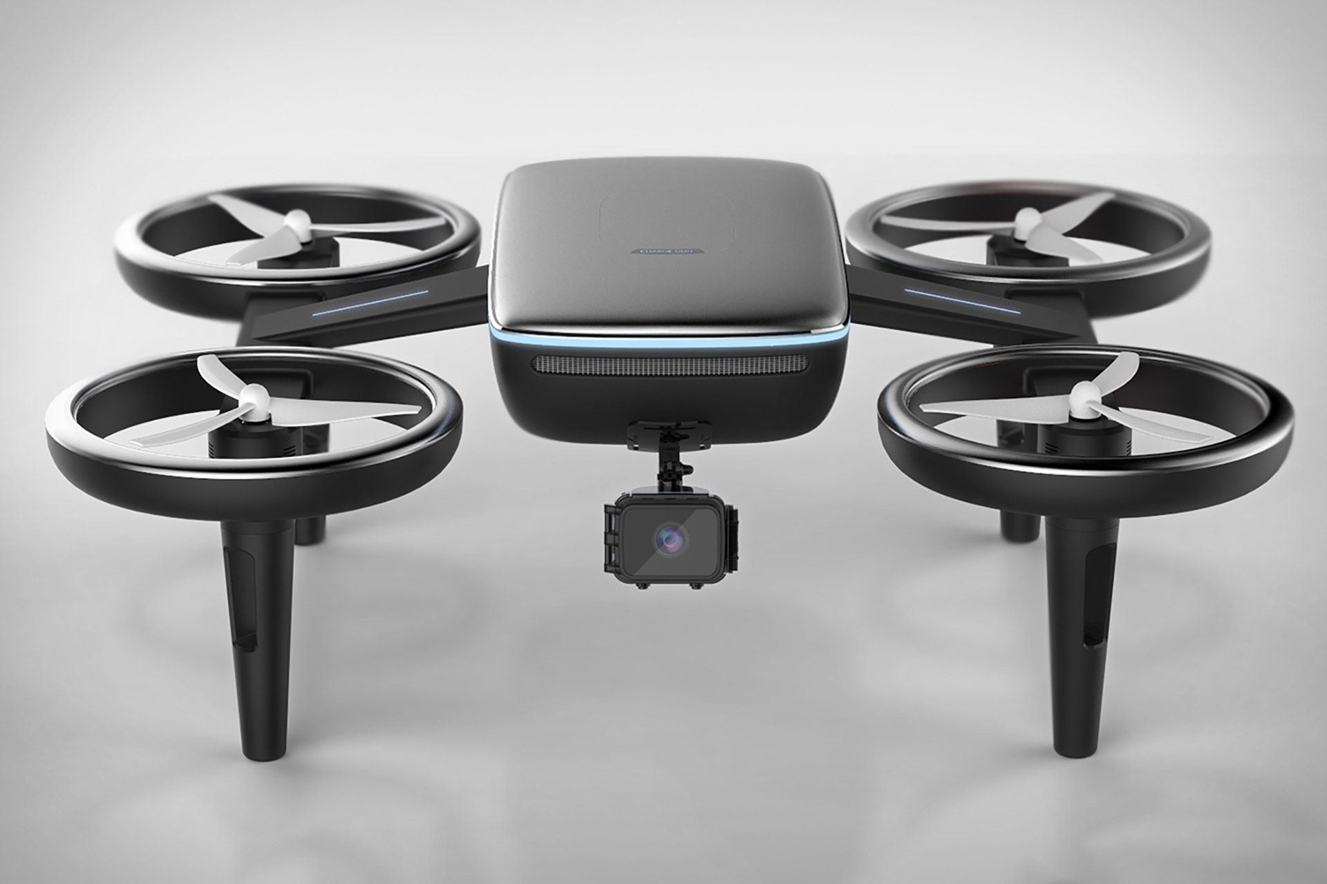 Volt Car Charging Drone Uncrate