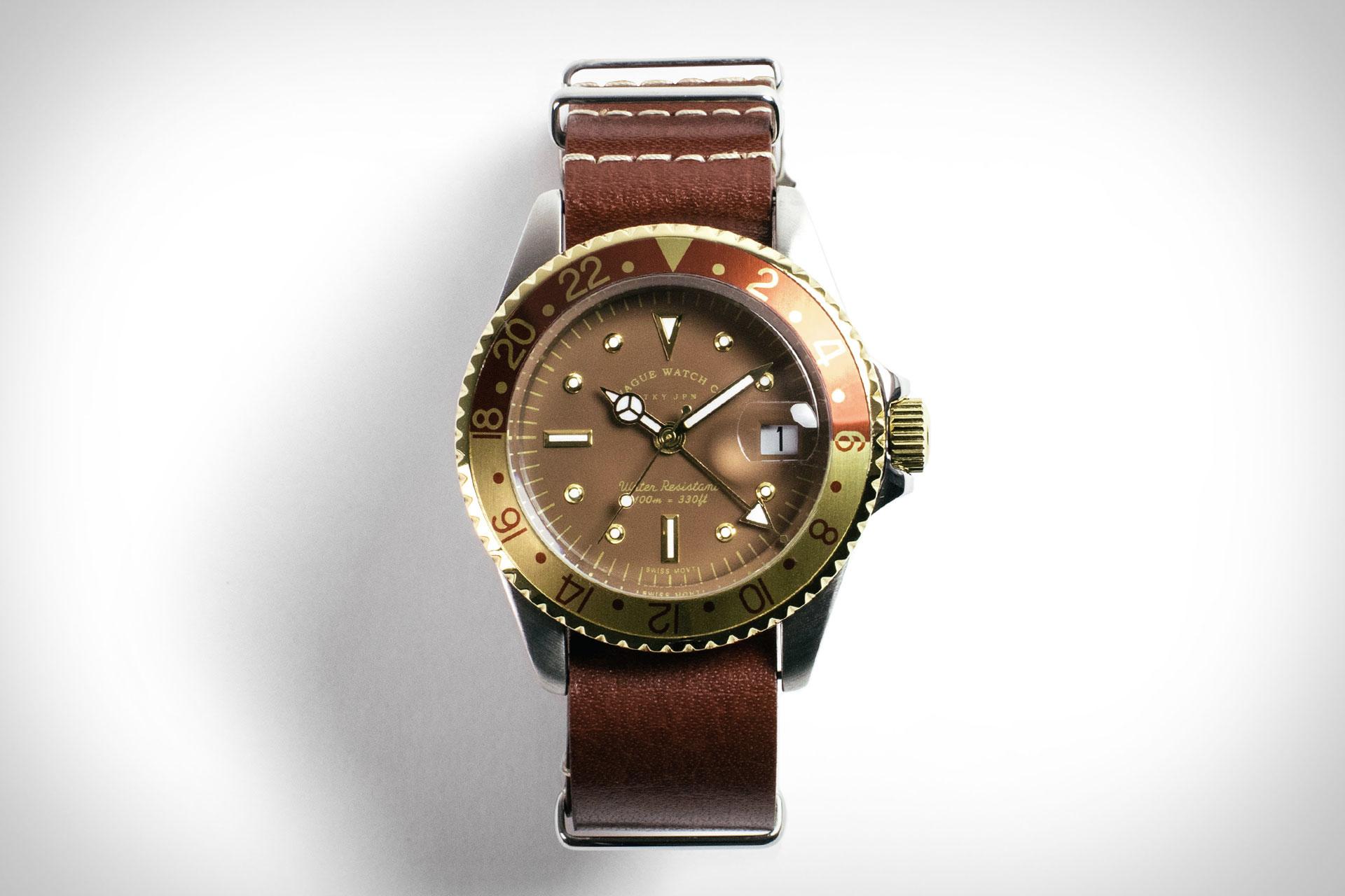 Vague Gmt Watch Uncrate
