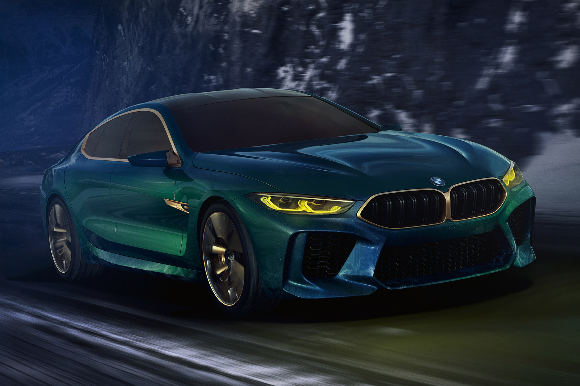 Bmw Concept M8 Gran Coupe Uncrate