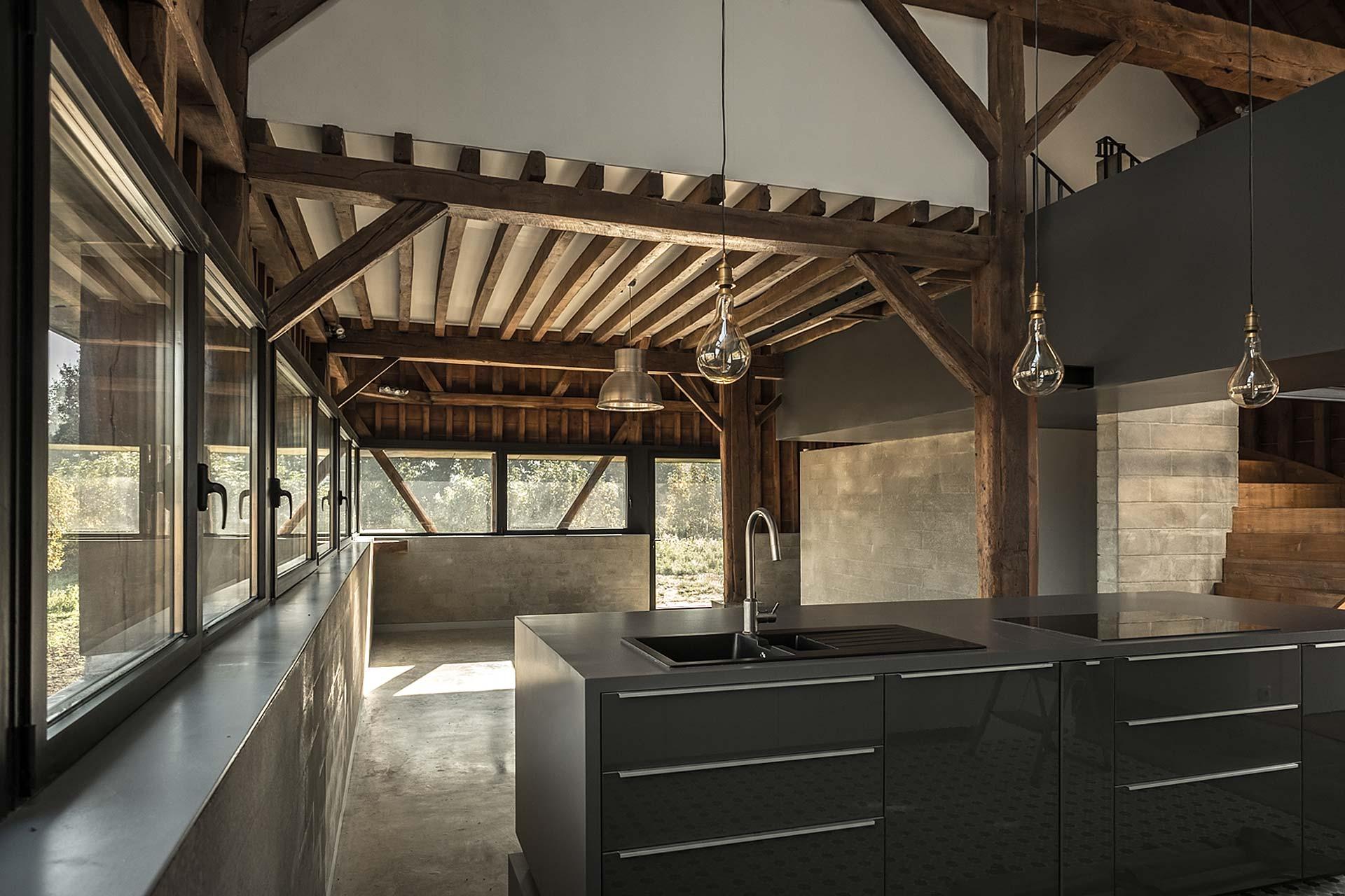 Chemin Barn Restoration