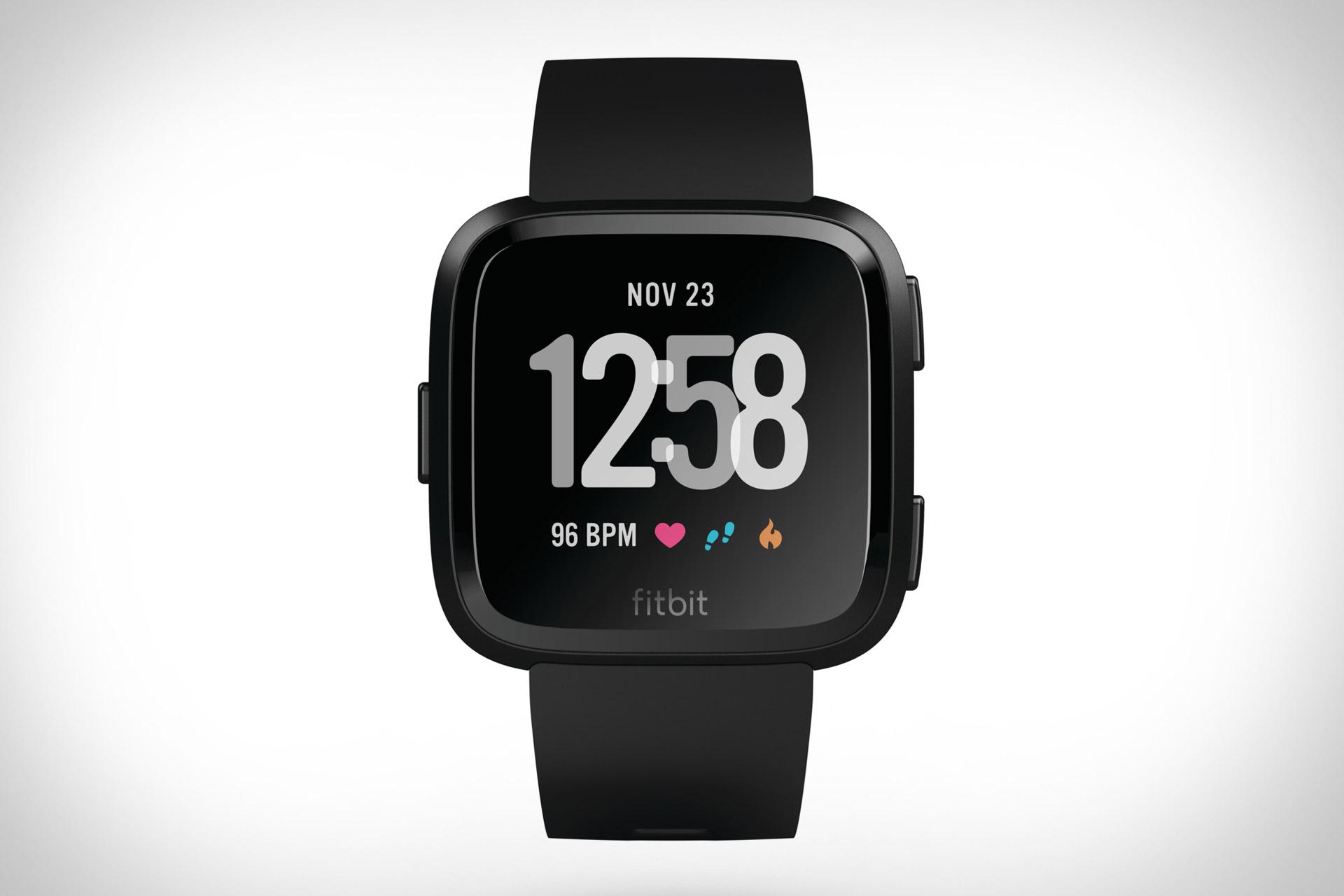 Fitbit Versa Smartwatch Uncrate