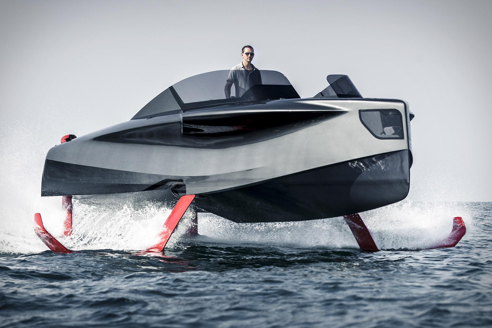 images Foiler Flying Yacht