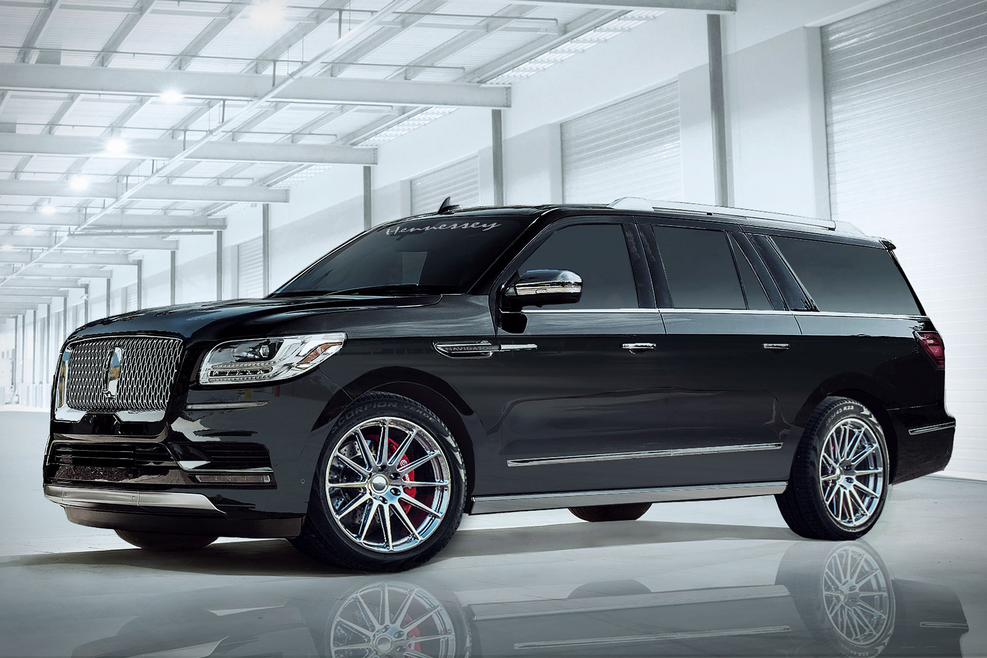 2018 Hennessey Lincoln Navigator | Uncrate