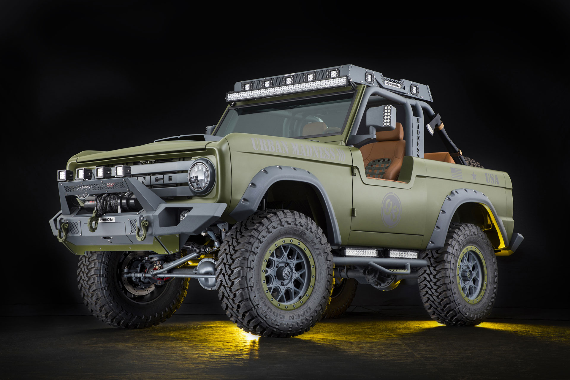 Rmd 1969 Ford Bronco Urban Madness Uncrate 1970 Full Size