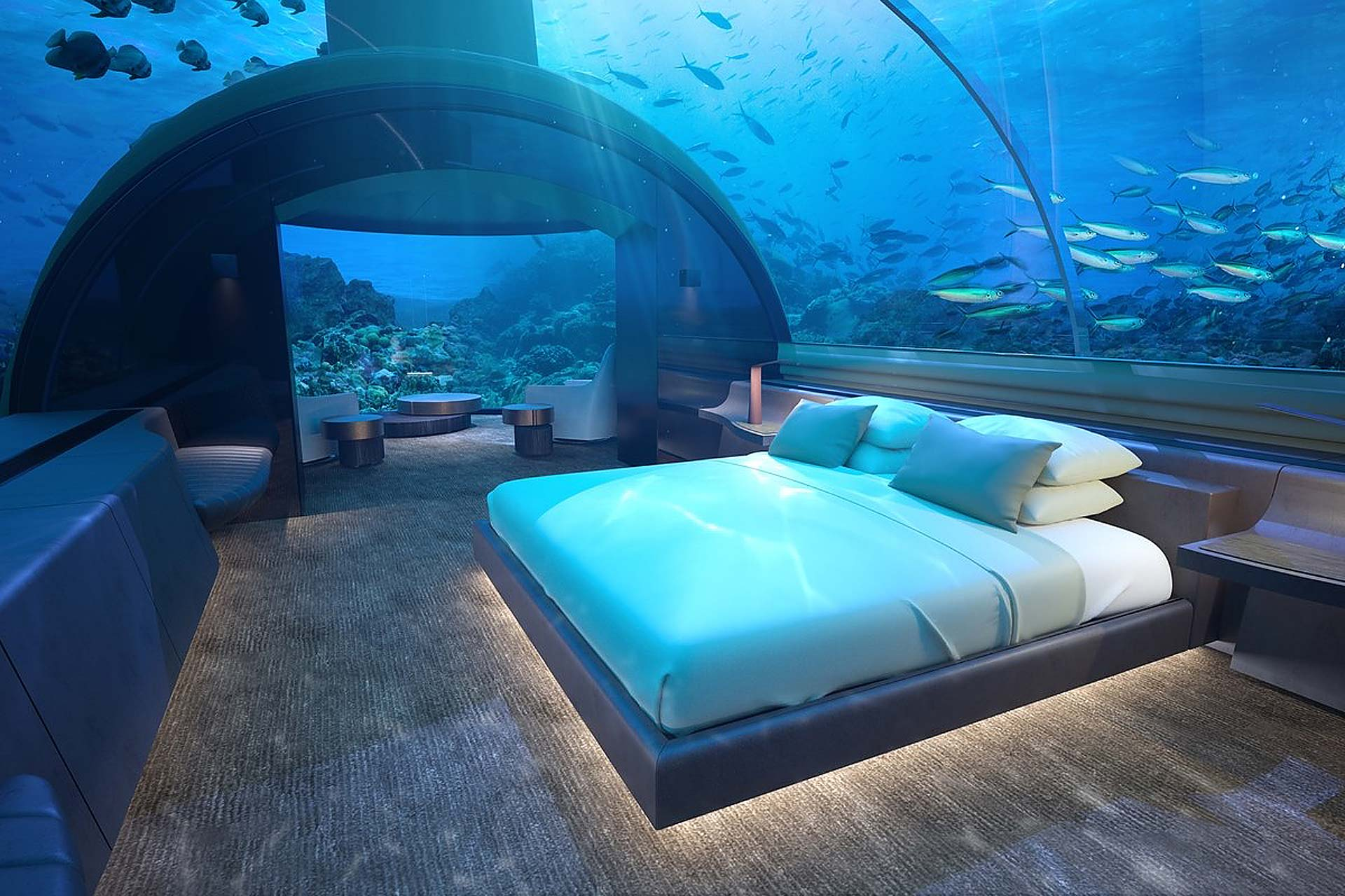 Muraka Underwater Hotel Suite Uncrate