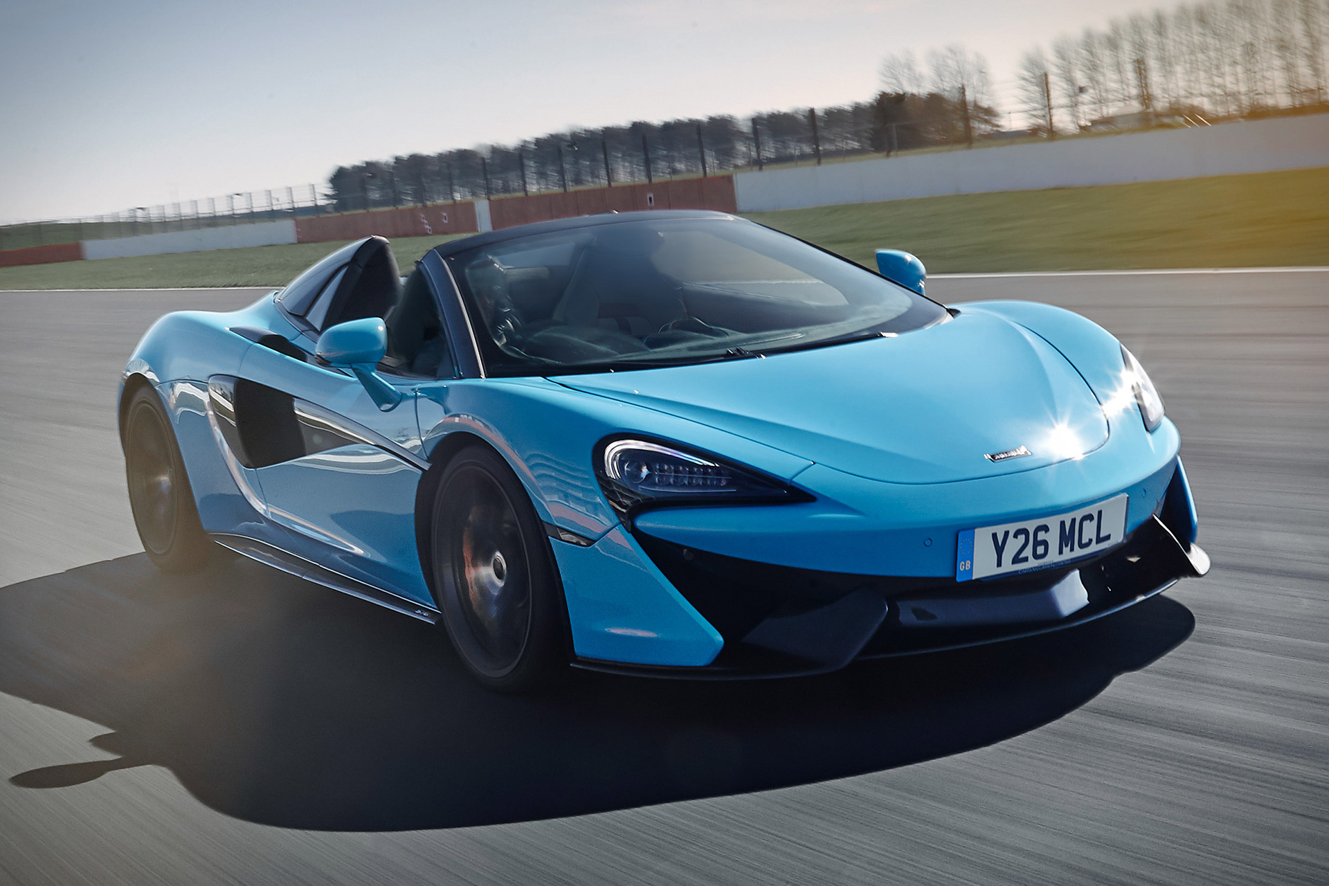 McLaren 570S Spider Track Pack Sports Car