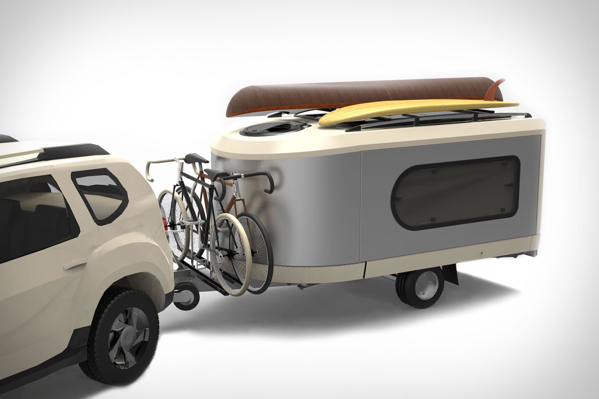 Tipoon Expandable Trailer Uncrate