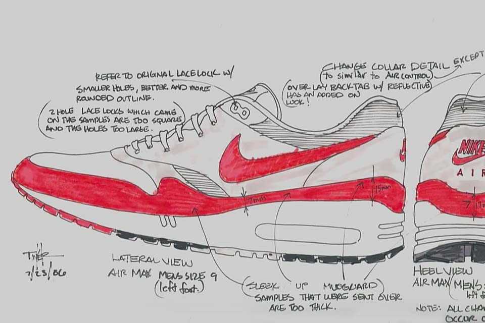 Behind the Design of the Nike Air Max 1