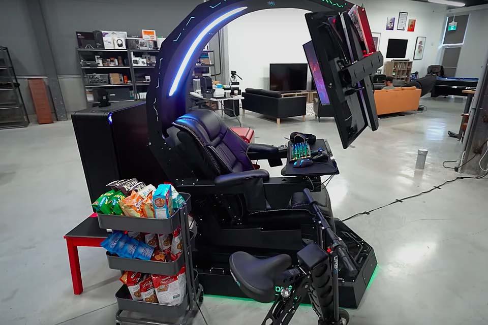 Ultimate gaming setup 2013
