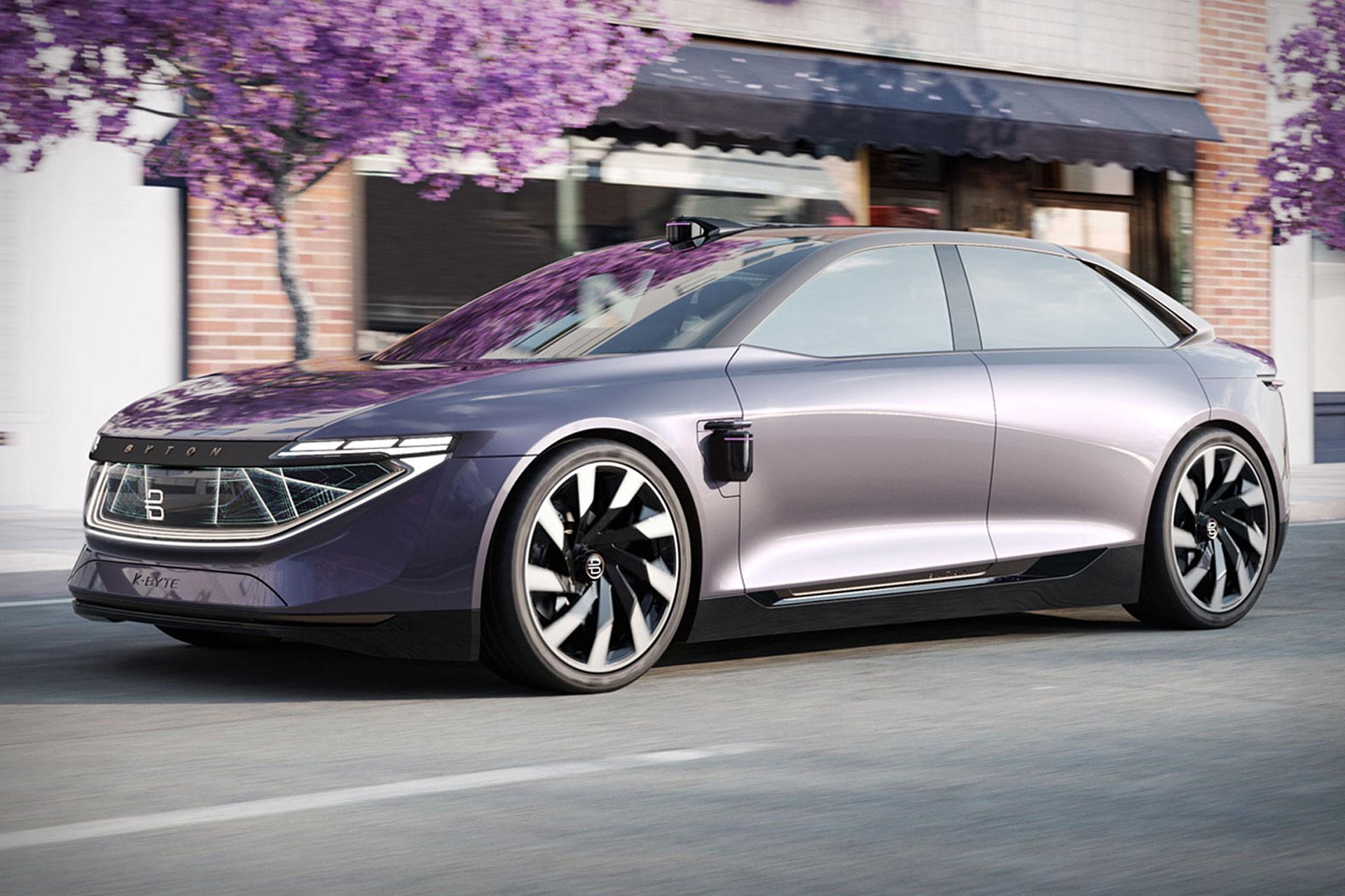 Byton K Byte Concept Sedan Uncrate