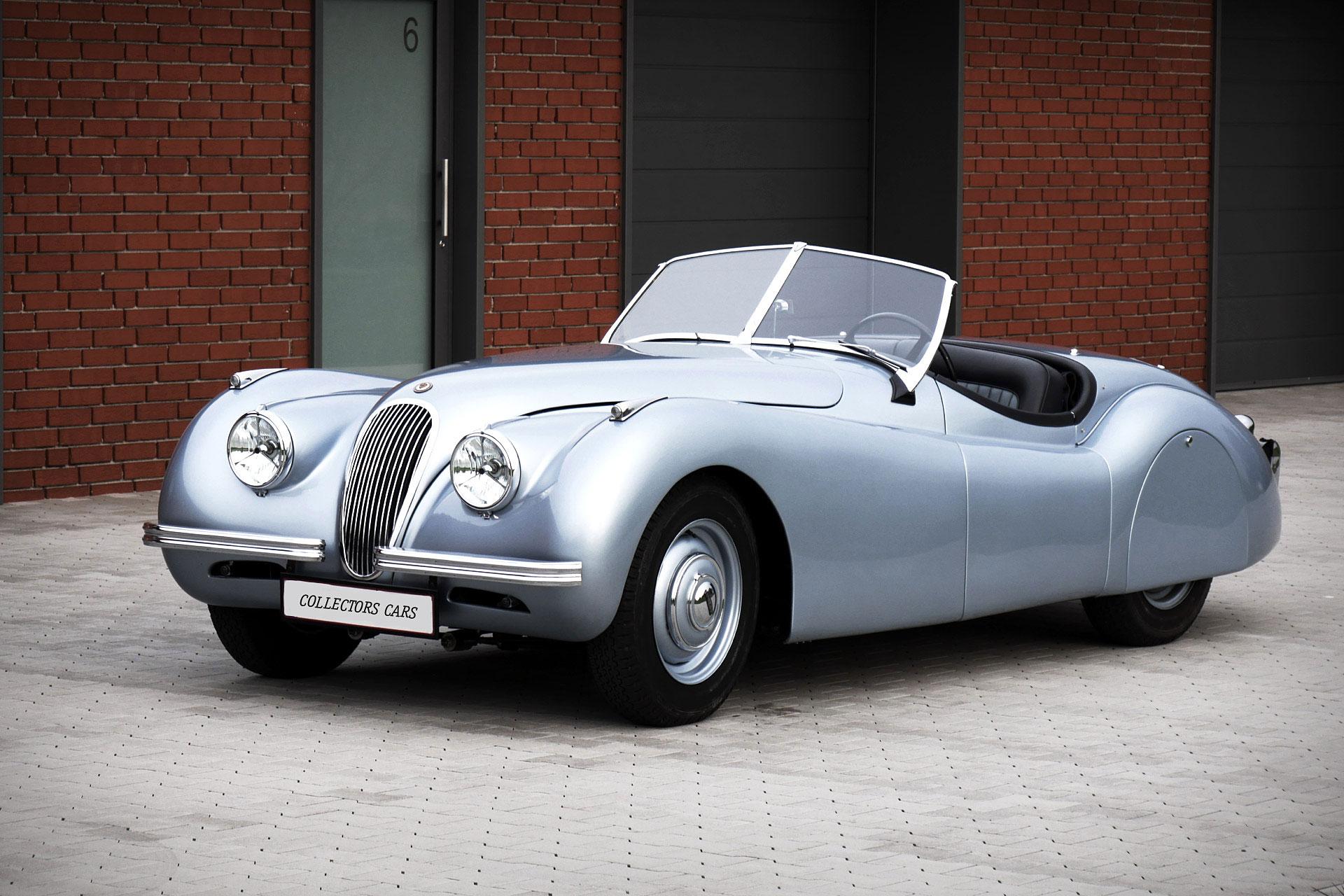 1950 Jaguar Xk120 Alloy Roadster Uncrate