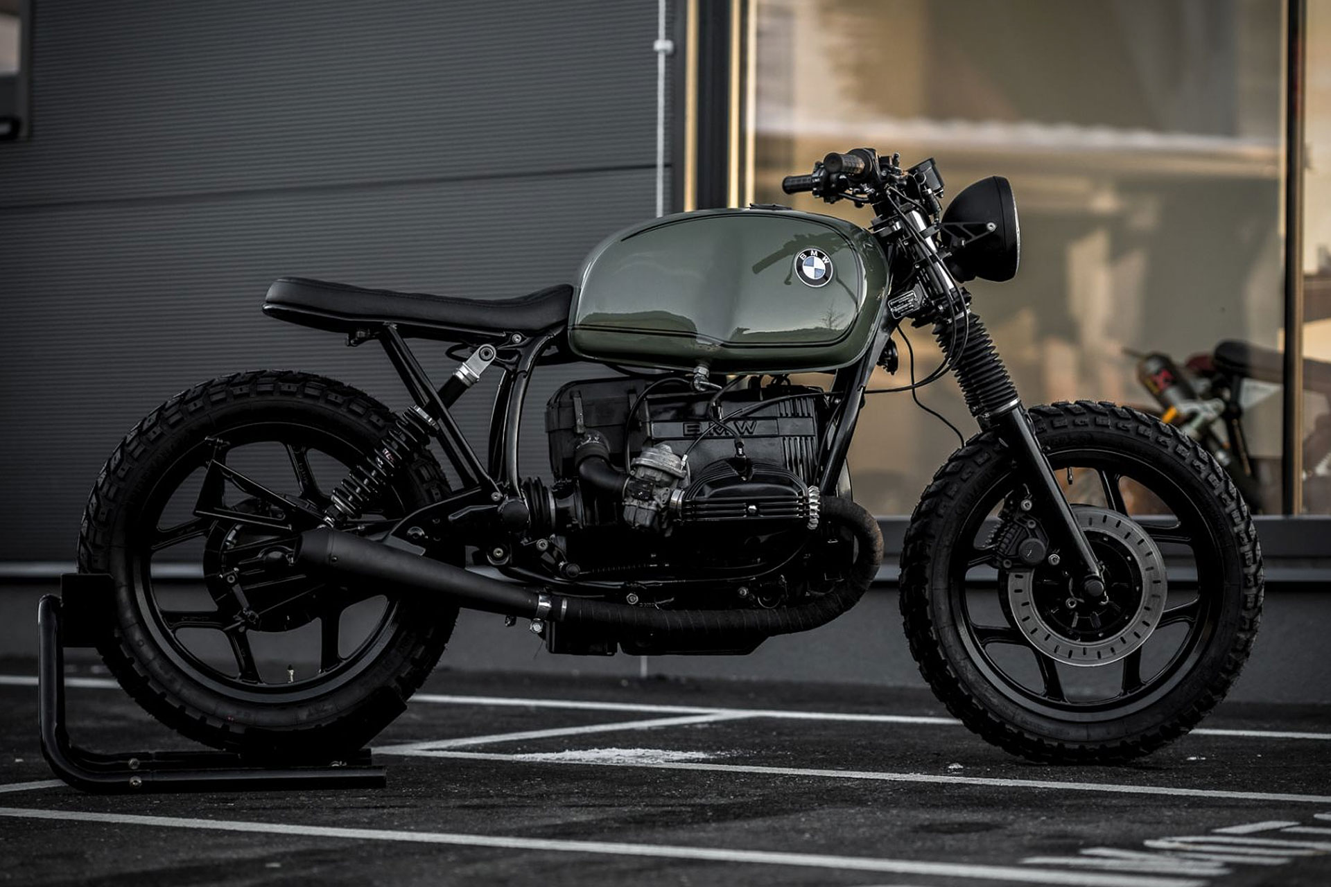 NCT BMW R80 Olivera Motorcycle