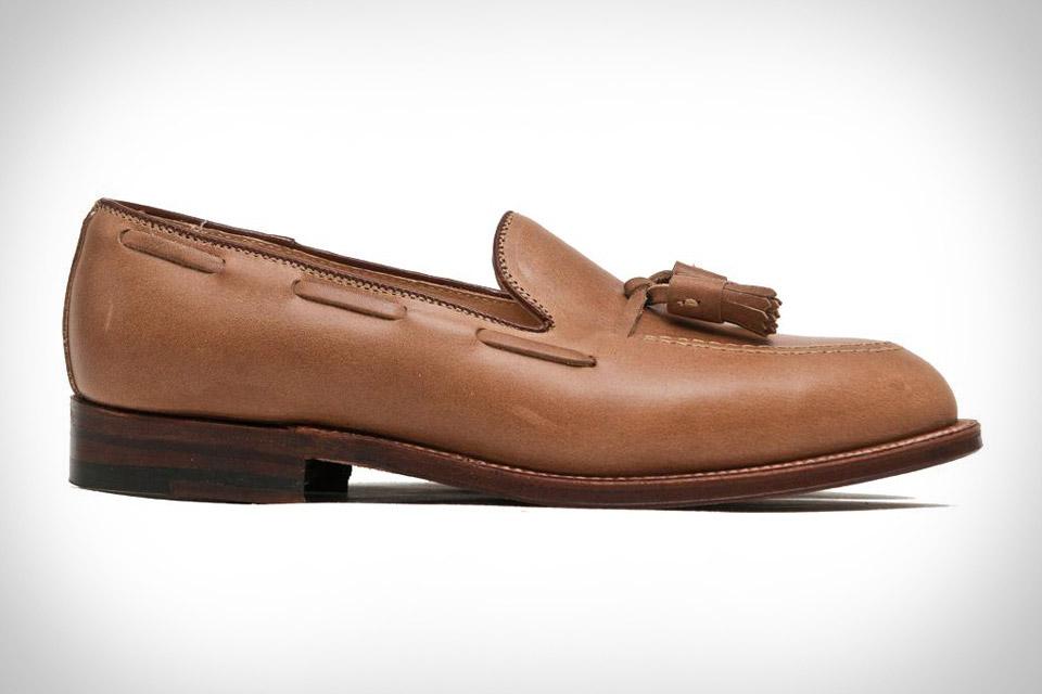 Alden Natural Chromexcel Tassel Loafer
