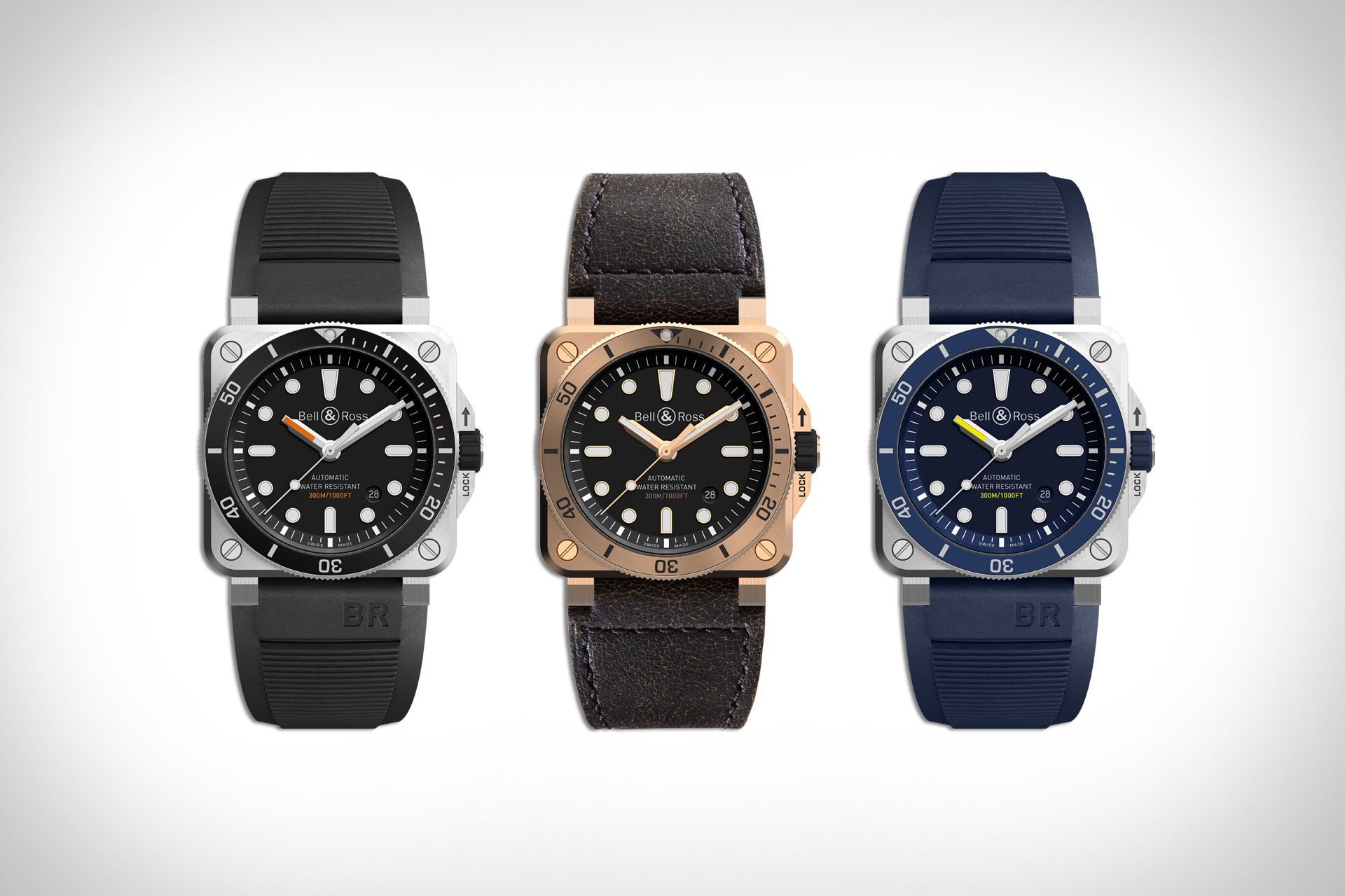 Bell & Amp Ross Diver Watch Collection Uncrate