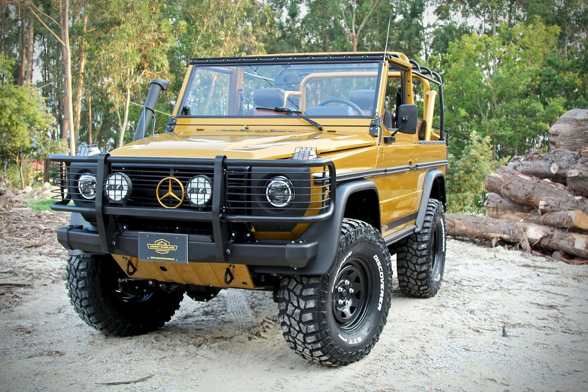 1990 mercedes benz g class wolf soft top suv uncrate. Black Bedroom Furniture Sets. Home Design Ideas