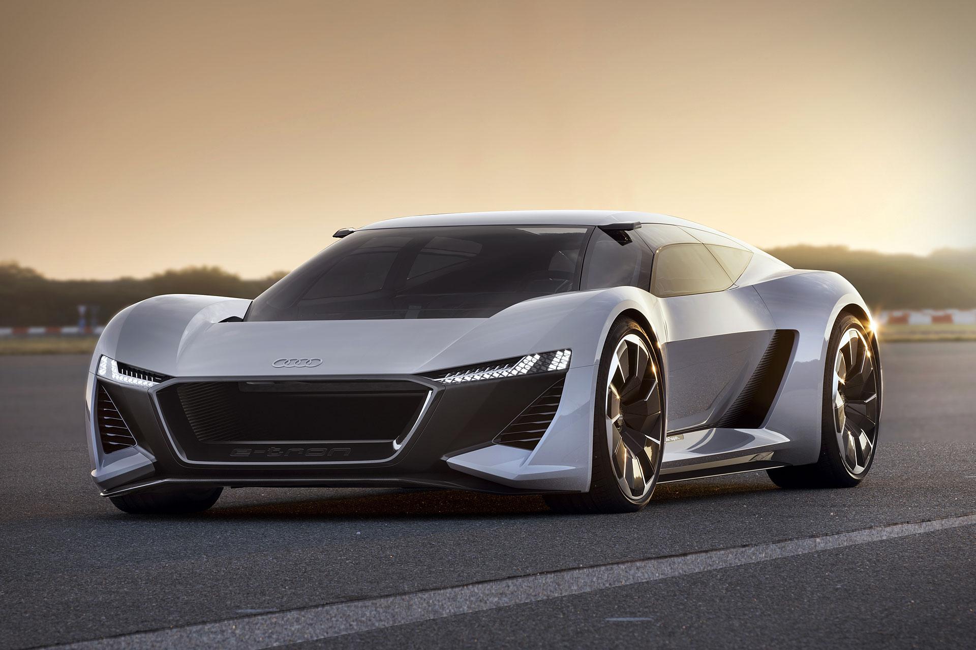 Audi 0 60 >> Audi PB 18 E-tron Concept Car | Uncrate