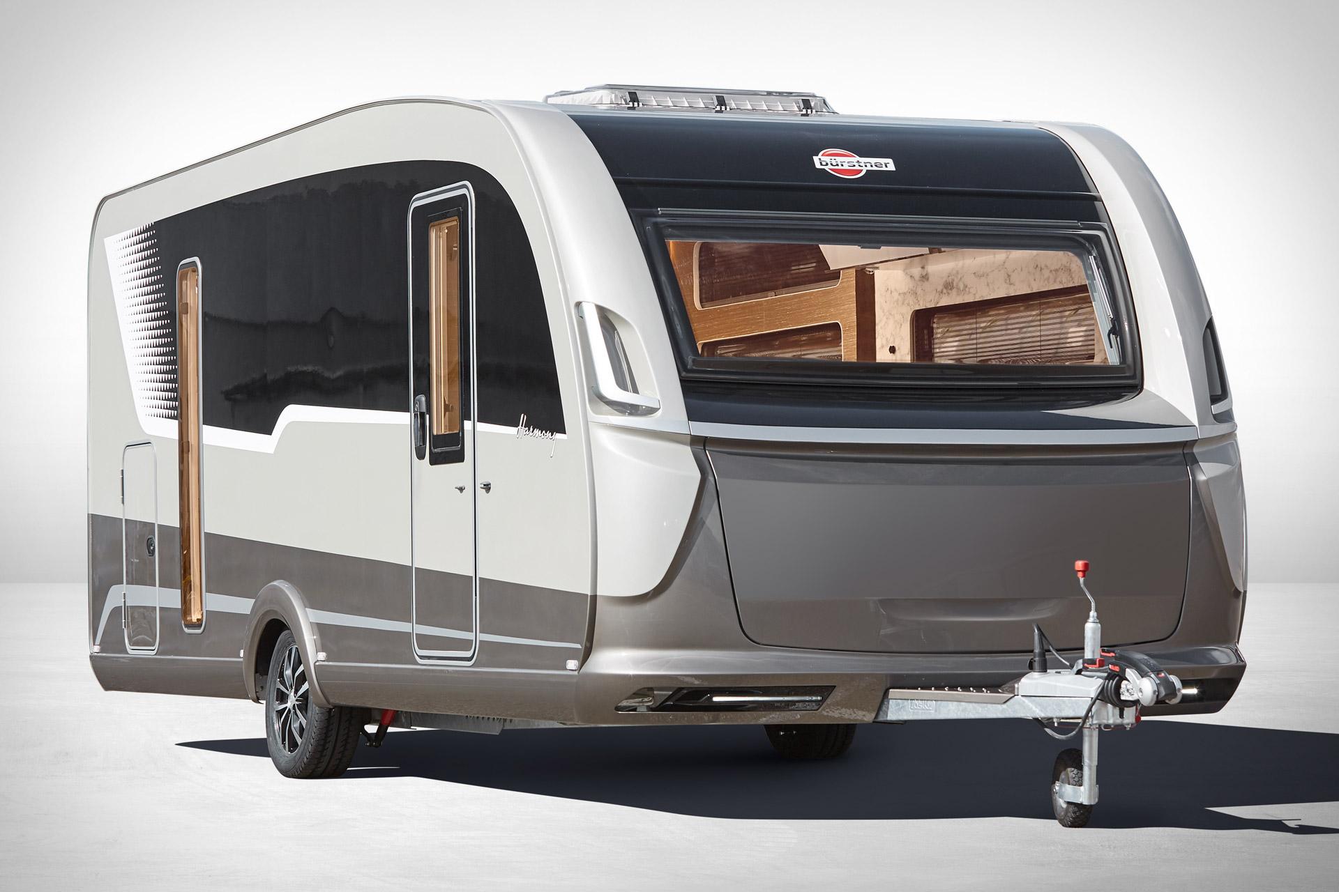 Burstner Harmony 3 Concept Camper Uncrate