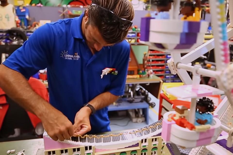 Building LEGOs For A Living