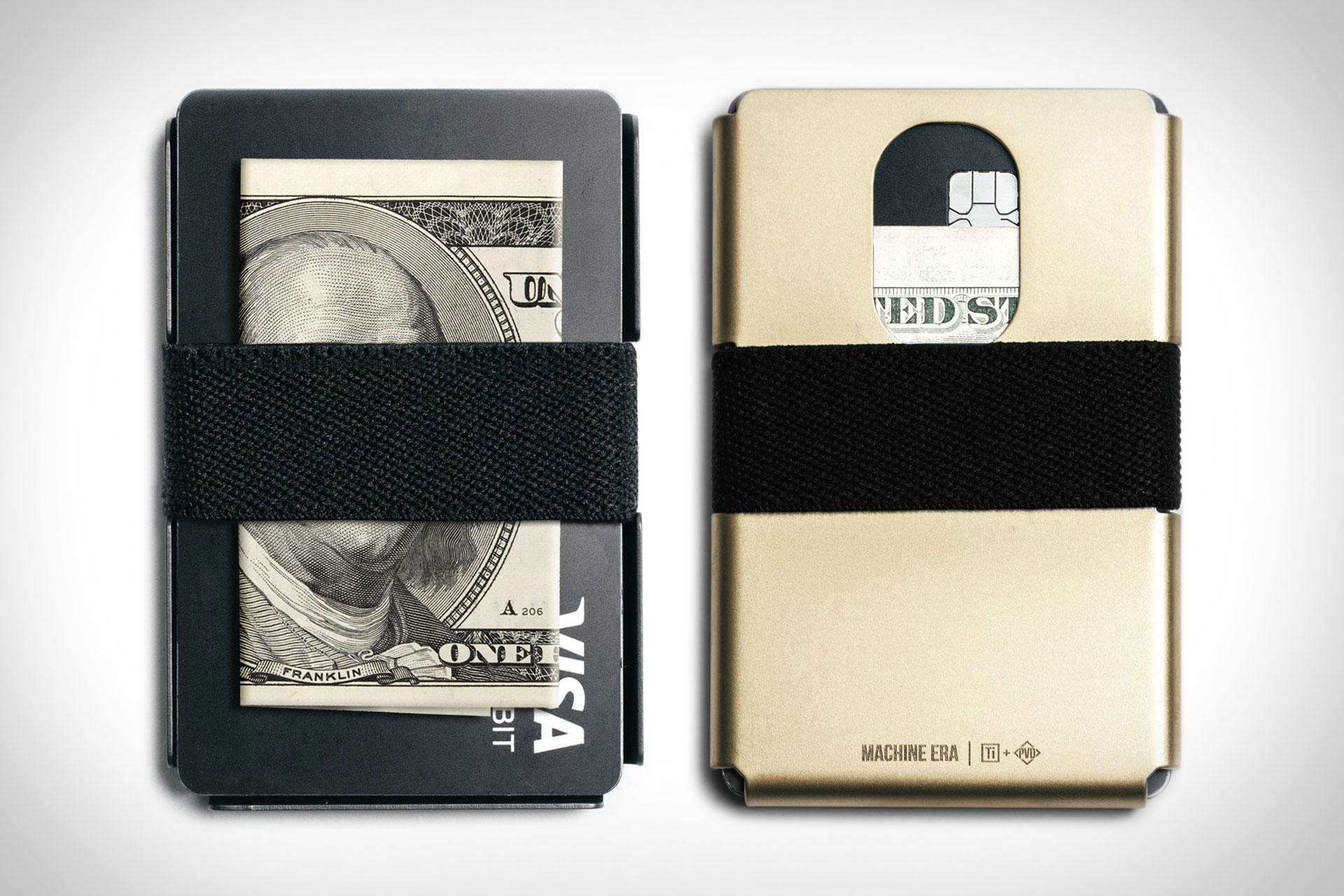 Machine Era Titanium Wallet