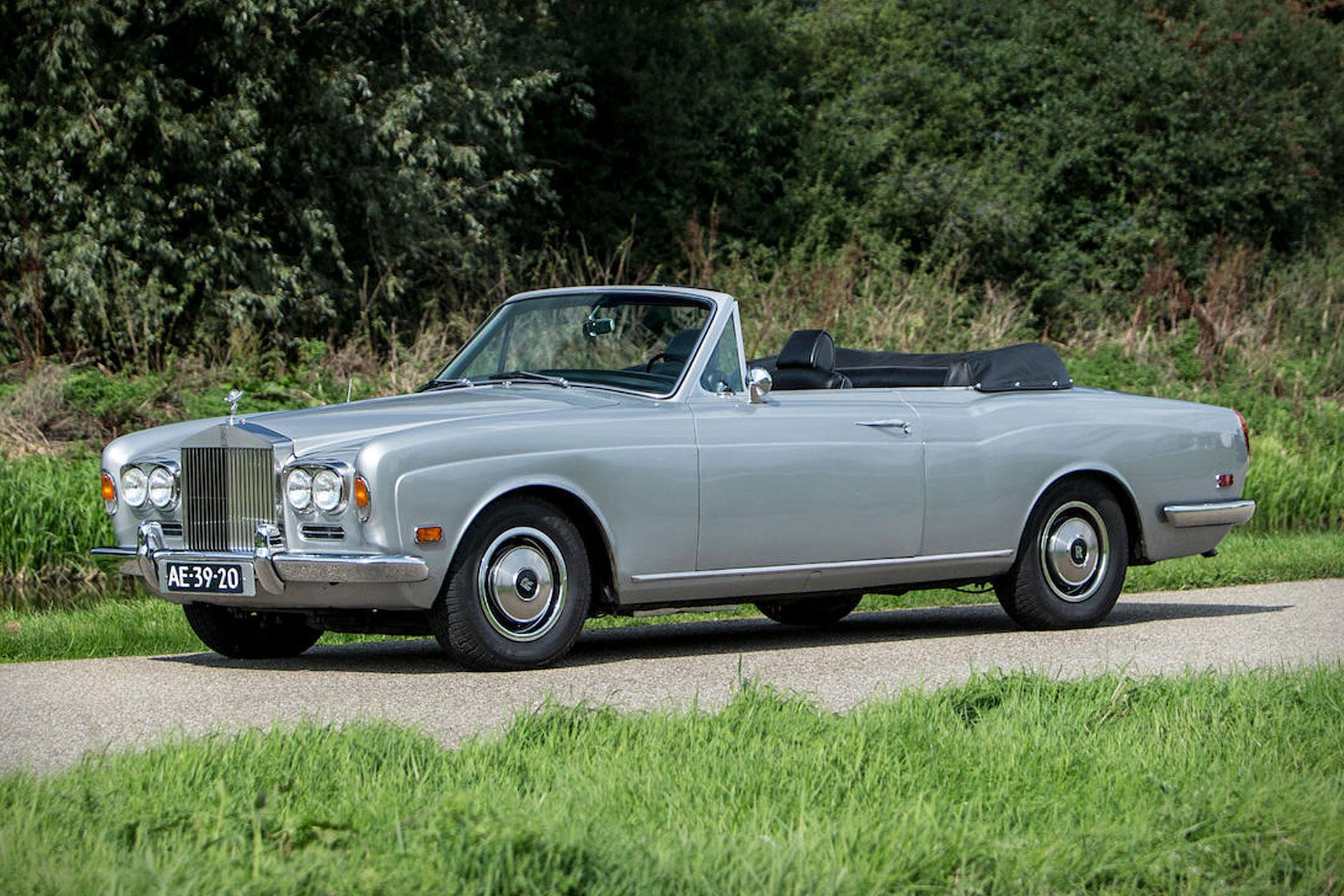 muhammad ali 39 s 1970 rolls royce silver shadow convertible uncrate. Black Bedroom Furniture Sets. Home Design Ideas